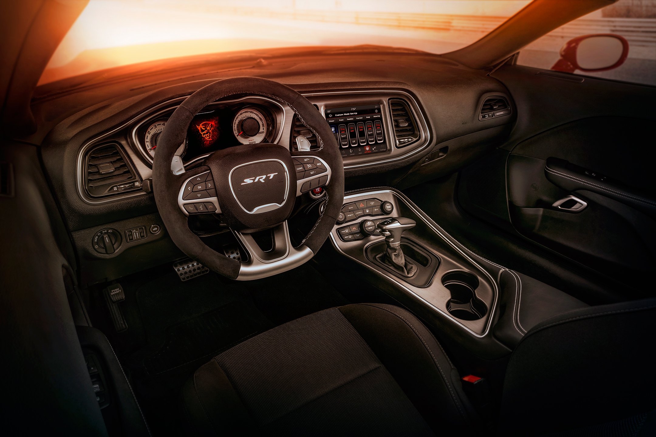 Dodge Challenger SRT-Demon - 2017 - interior