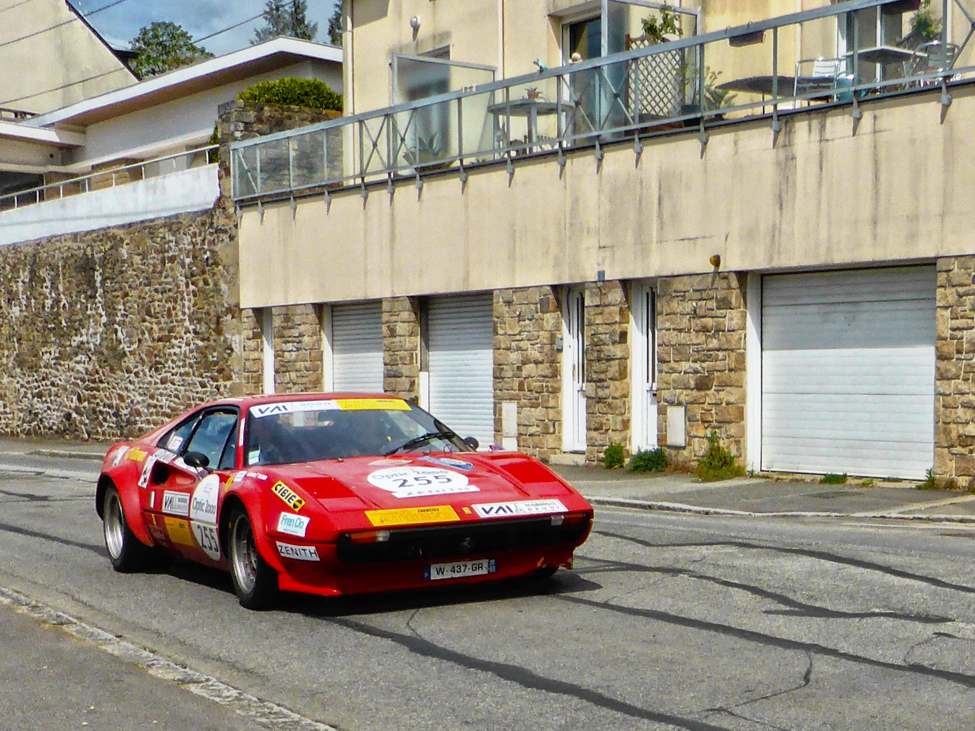 Ferrari 308 GTB Gr IV - 1976 - Tour Auto 2017 - photo by ELJ - DESIGNMOTEUR