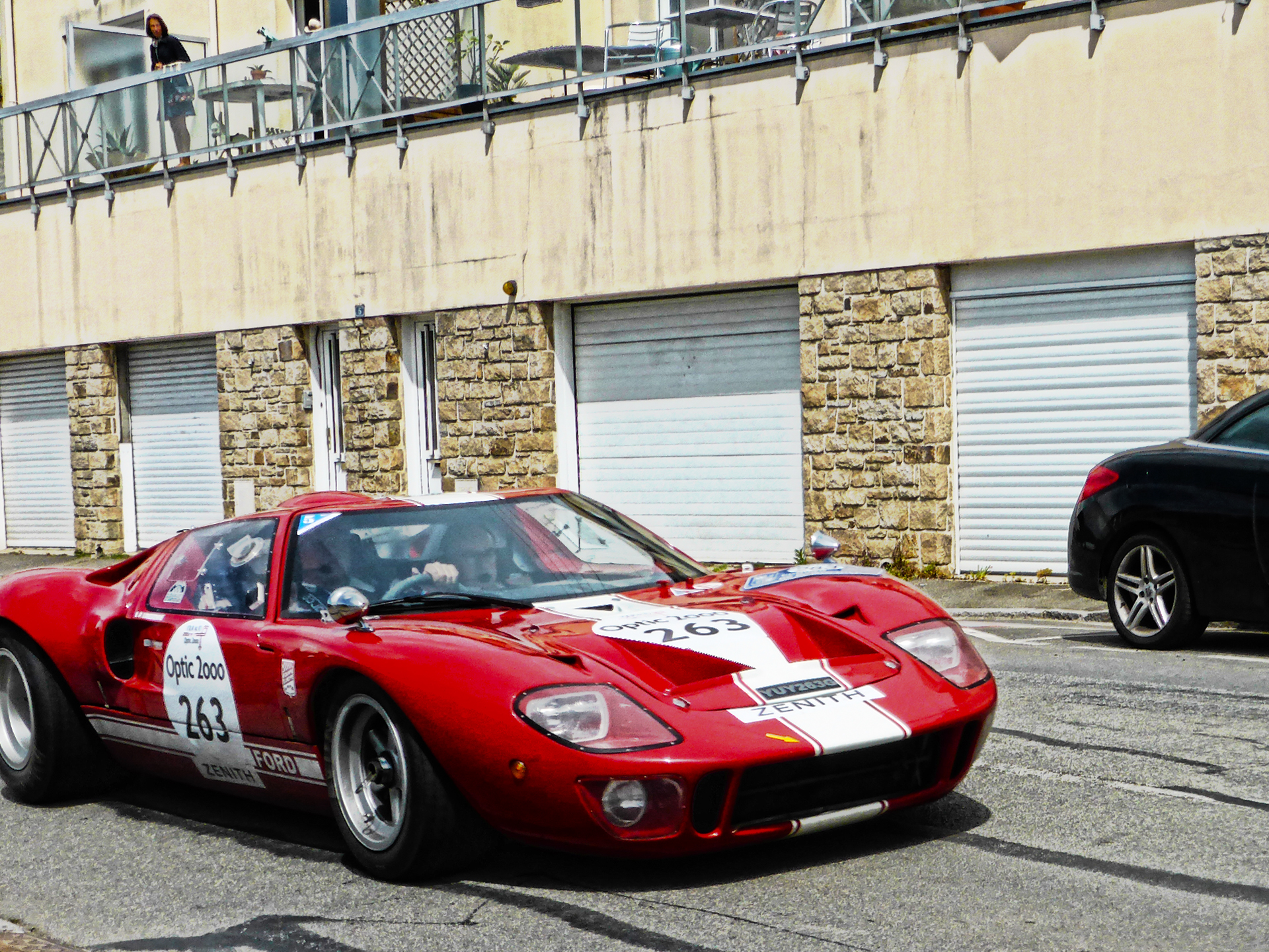 Ford GT40 - 1967 - Tour Auto 2017 - photo by ELJ - DESIGNMOTEUR