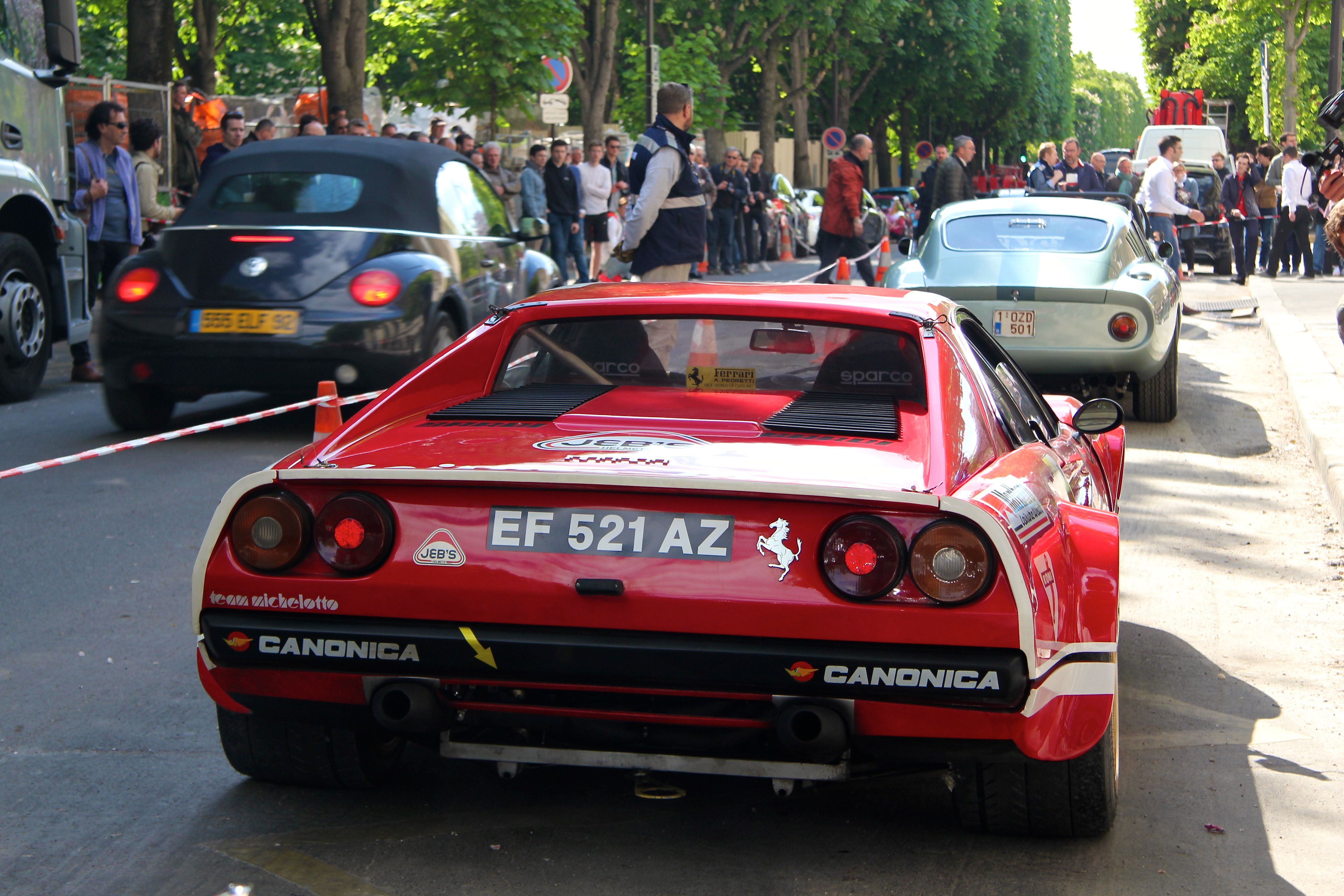 Ferrari 308 Gr IV - Paris - Tour Auto 2017 - photo Ludo Ferrari