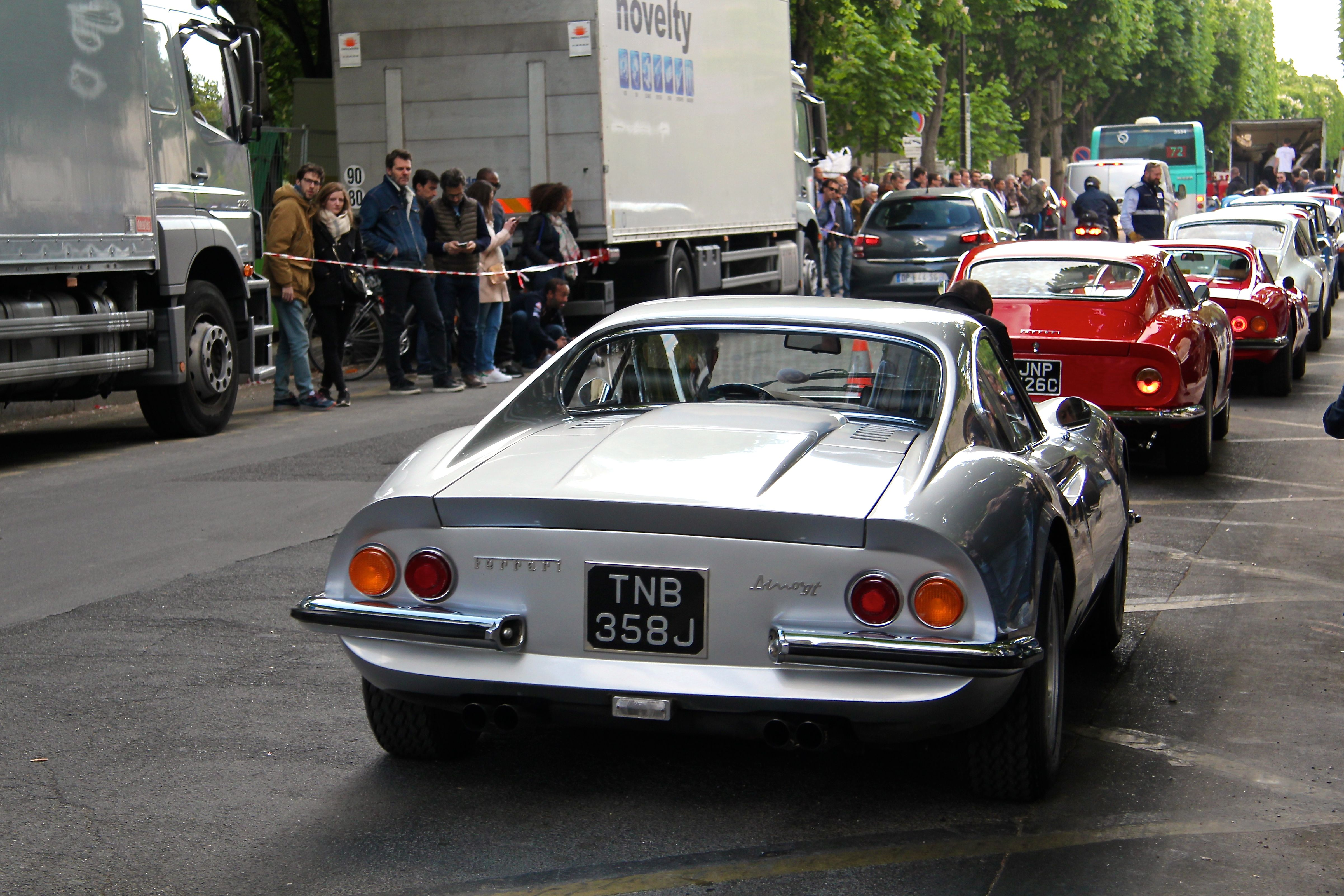 Ferrari Dino 246GT - Paris - Tour Auto 2017 - photo Ludo Ferrari
