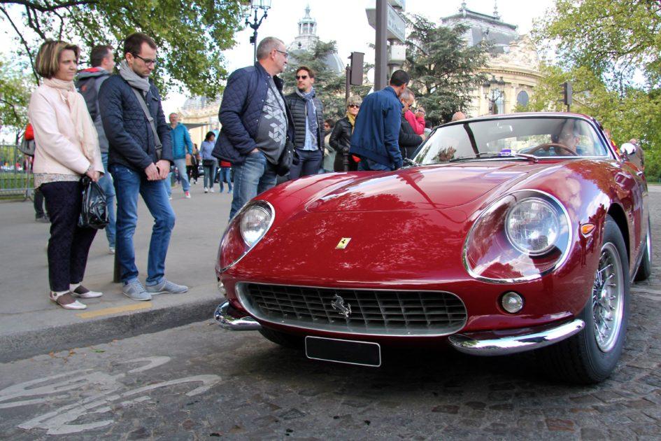 Ferrari classic - Paris - Tour Auto 2017 - photo Ludo Ferrari