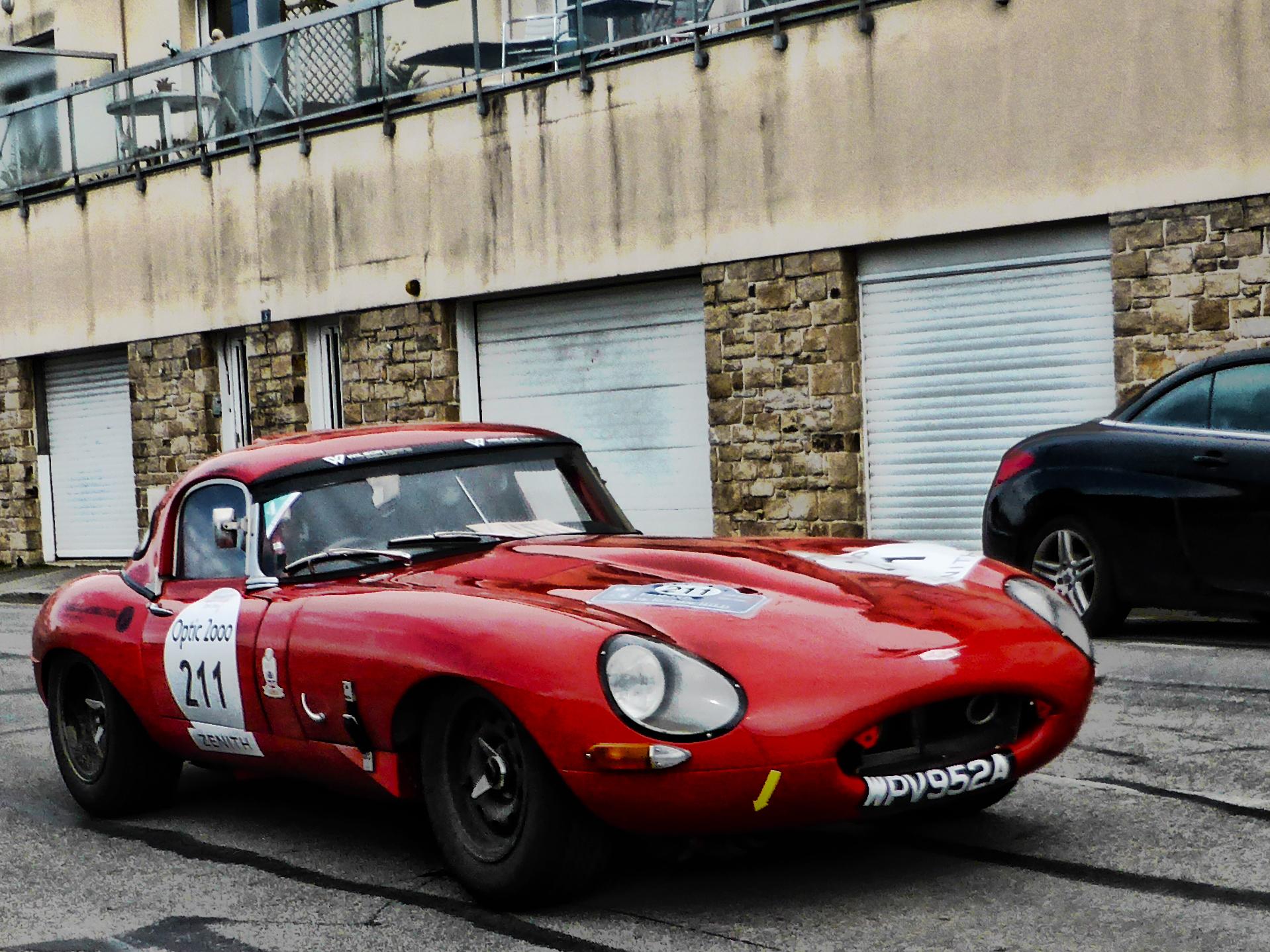 Jaguar TypeE 3.8L -1963 - Tour Auto 2017 - photo by ELJ - DESIGNMOTEUR
