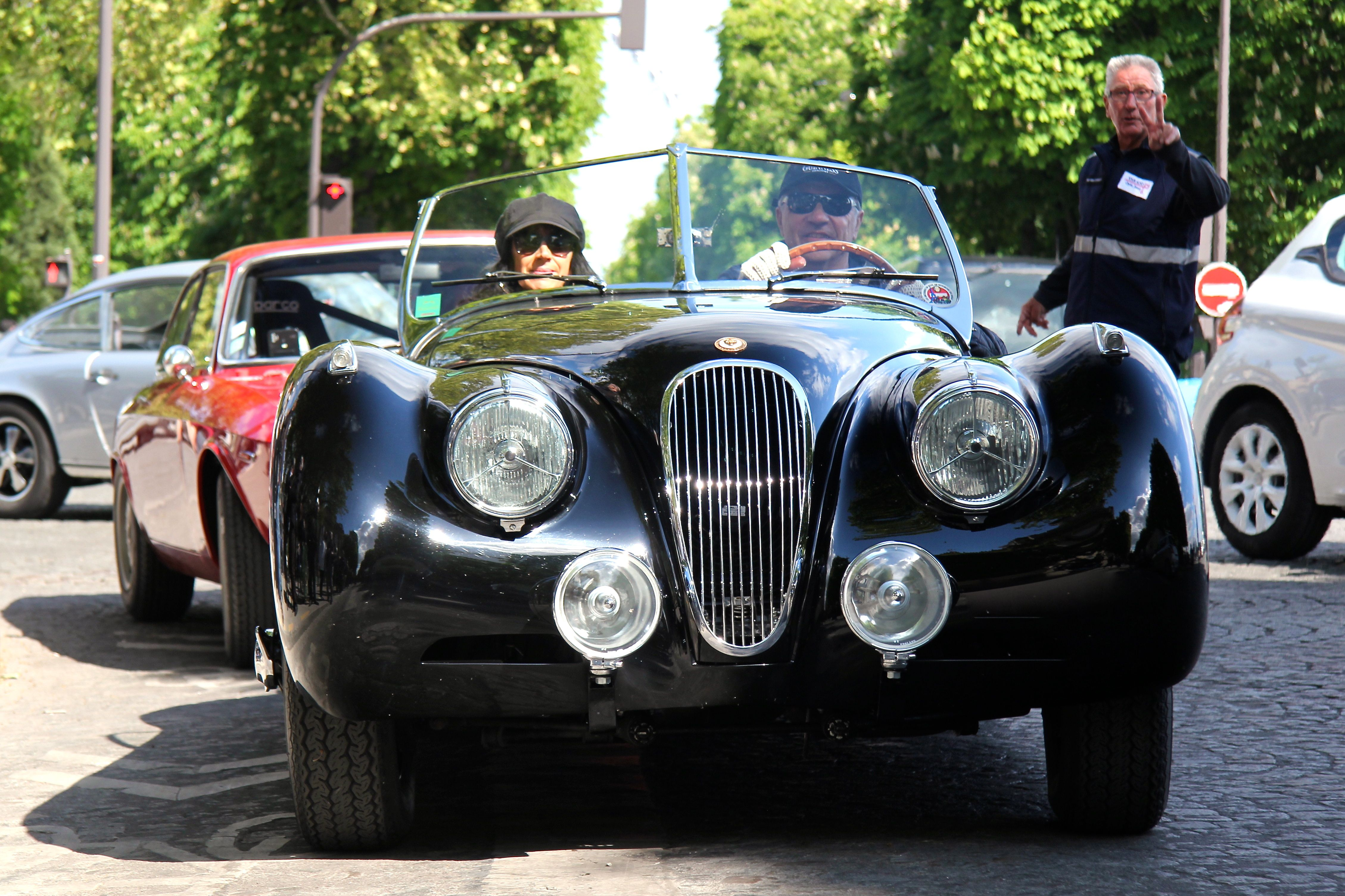 Jaguar classic - Paris - Tour Auto 2017 - photo Ludo Ferrari