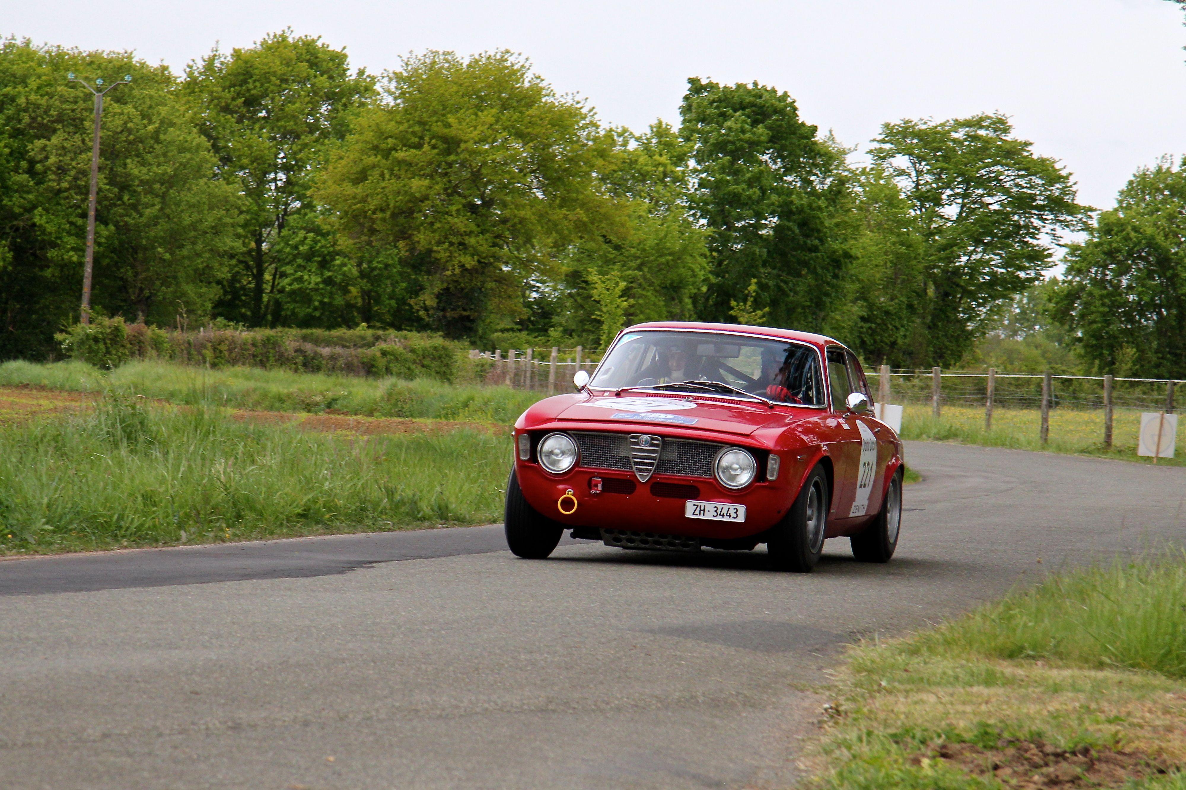 Alfa Romeo Giulia 1600 - GTA 1965 - départ - Tour Auto 2017 - photo Ludo Ferrari