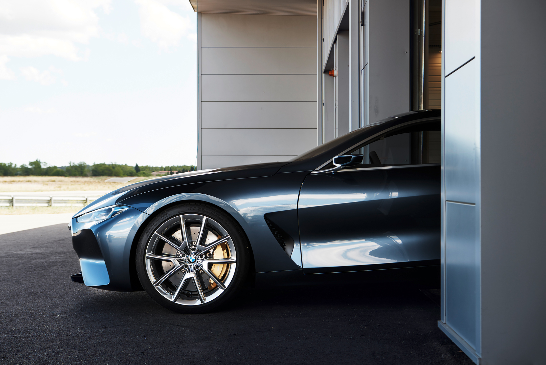 BMW concept 8 series - 2017 - wheel / jante