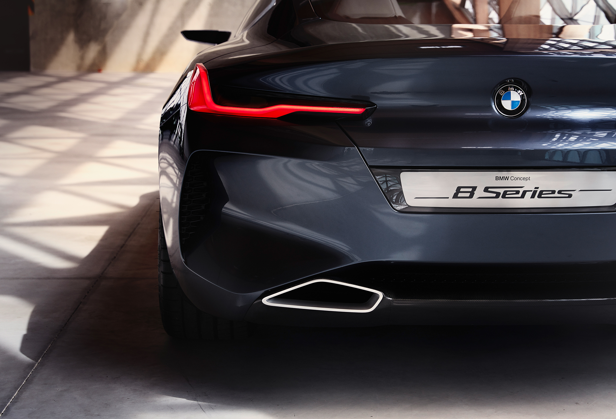 BMW concept 8 series - 2017 - rear light
