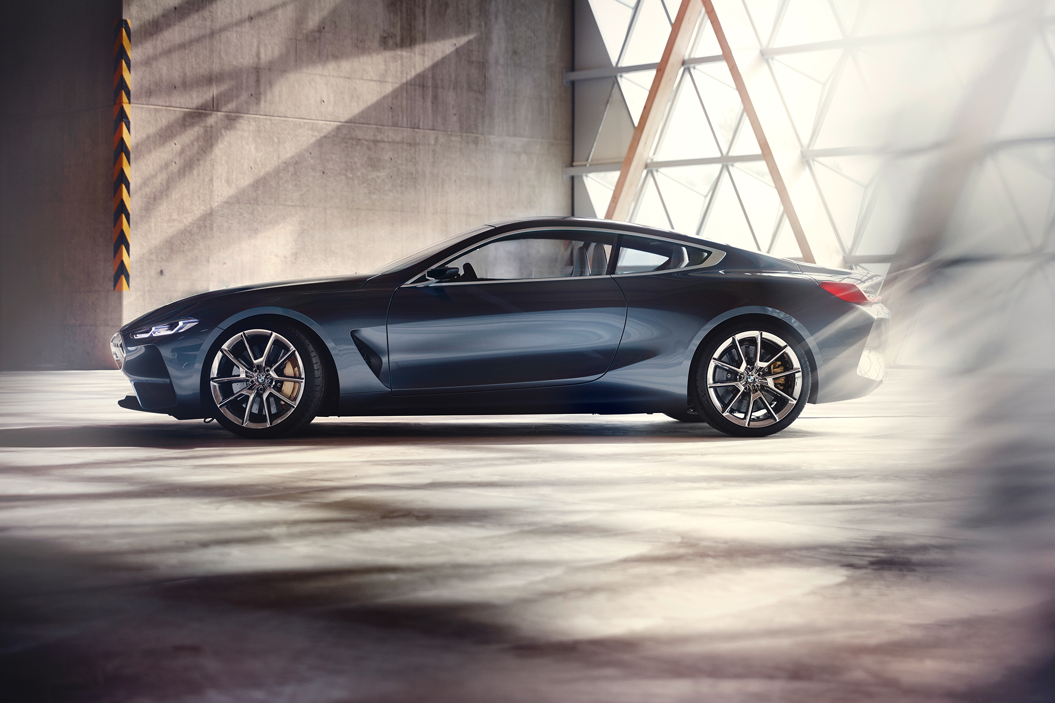 BMW concept 8 series - 2017 - side-face / profil