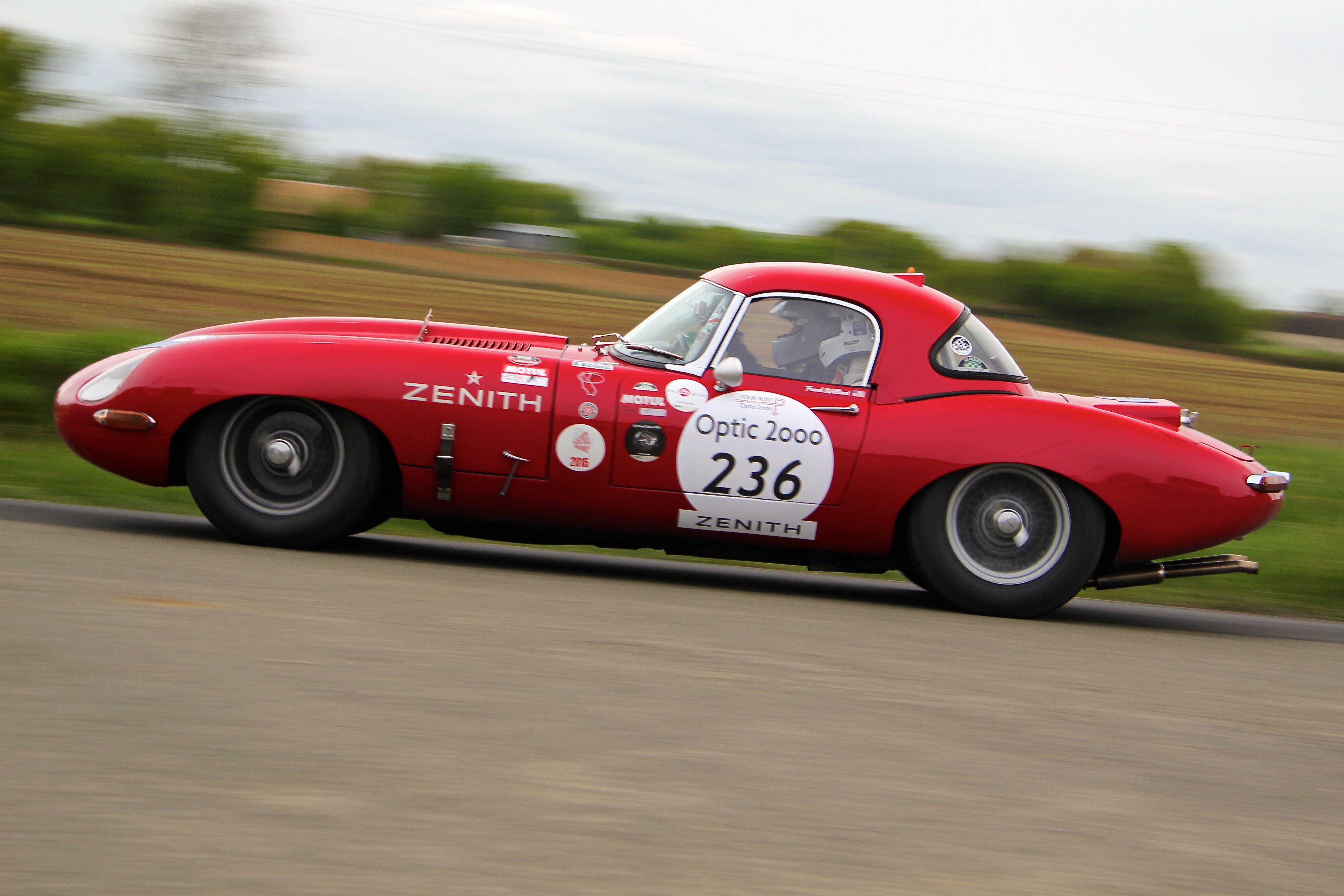 Jaguar Type E 1964 - épreuve spéciale - Tour Auto 2017 - photo Ludo Ferrari