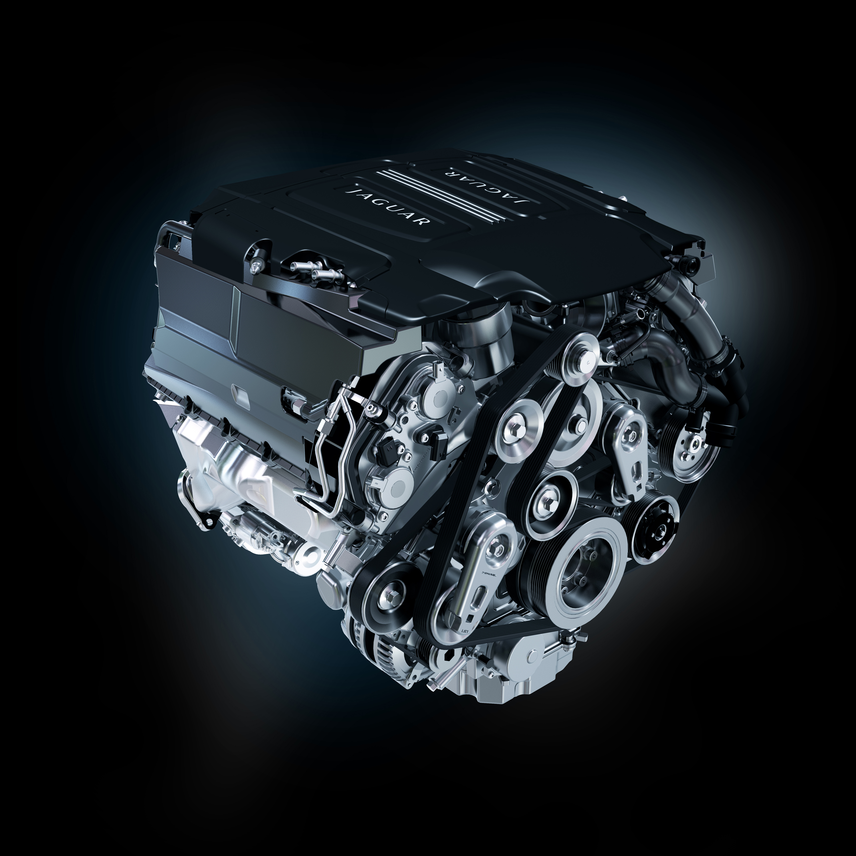 Jaguar 5.0L V8 Supercharged - engine / moteur