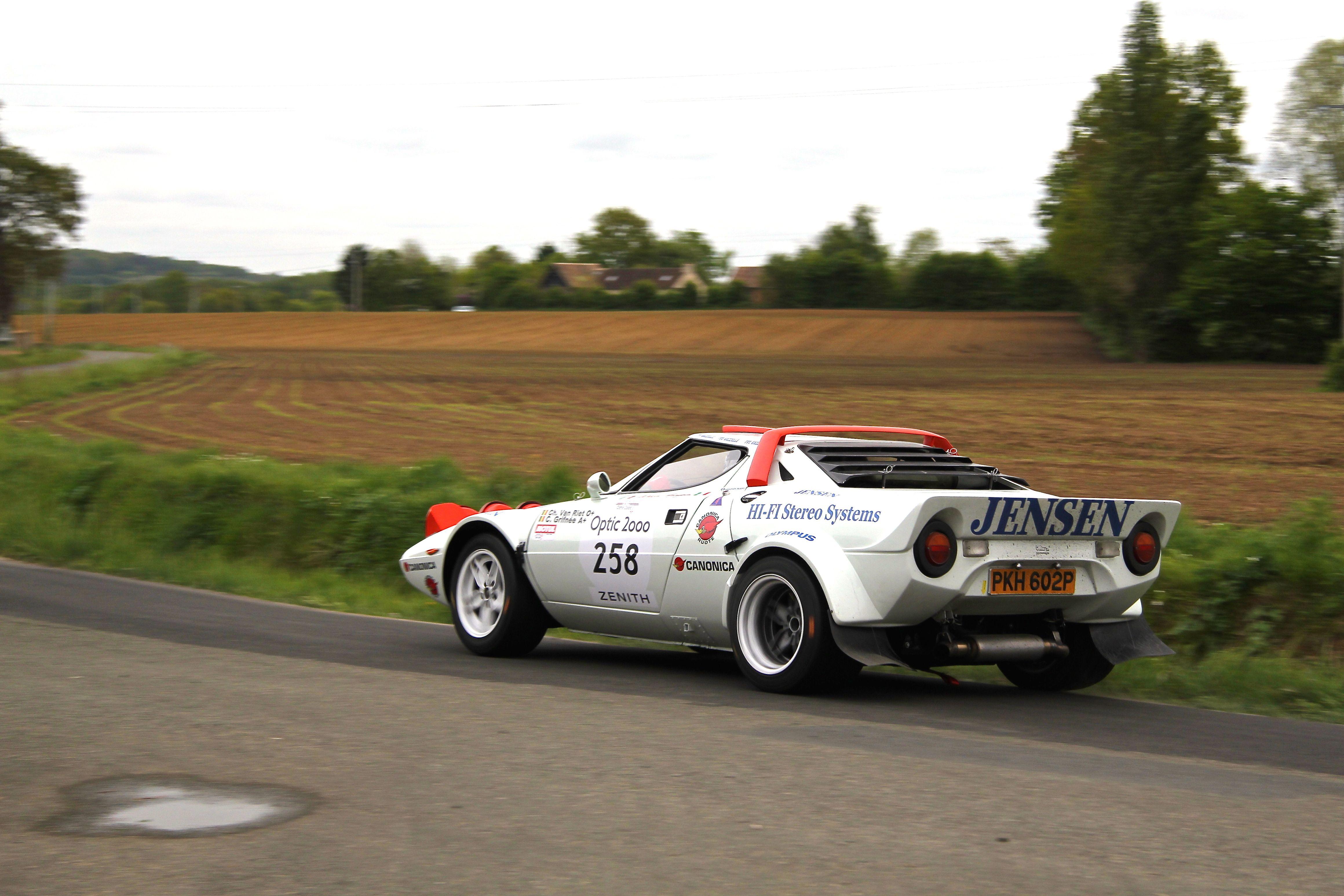 Lancia Stratos HF 1974 - épreuve spéciale - Tour Auto 2017 - photo Ludo Ferrari