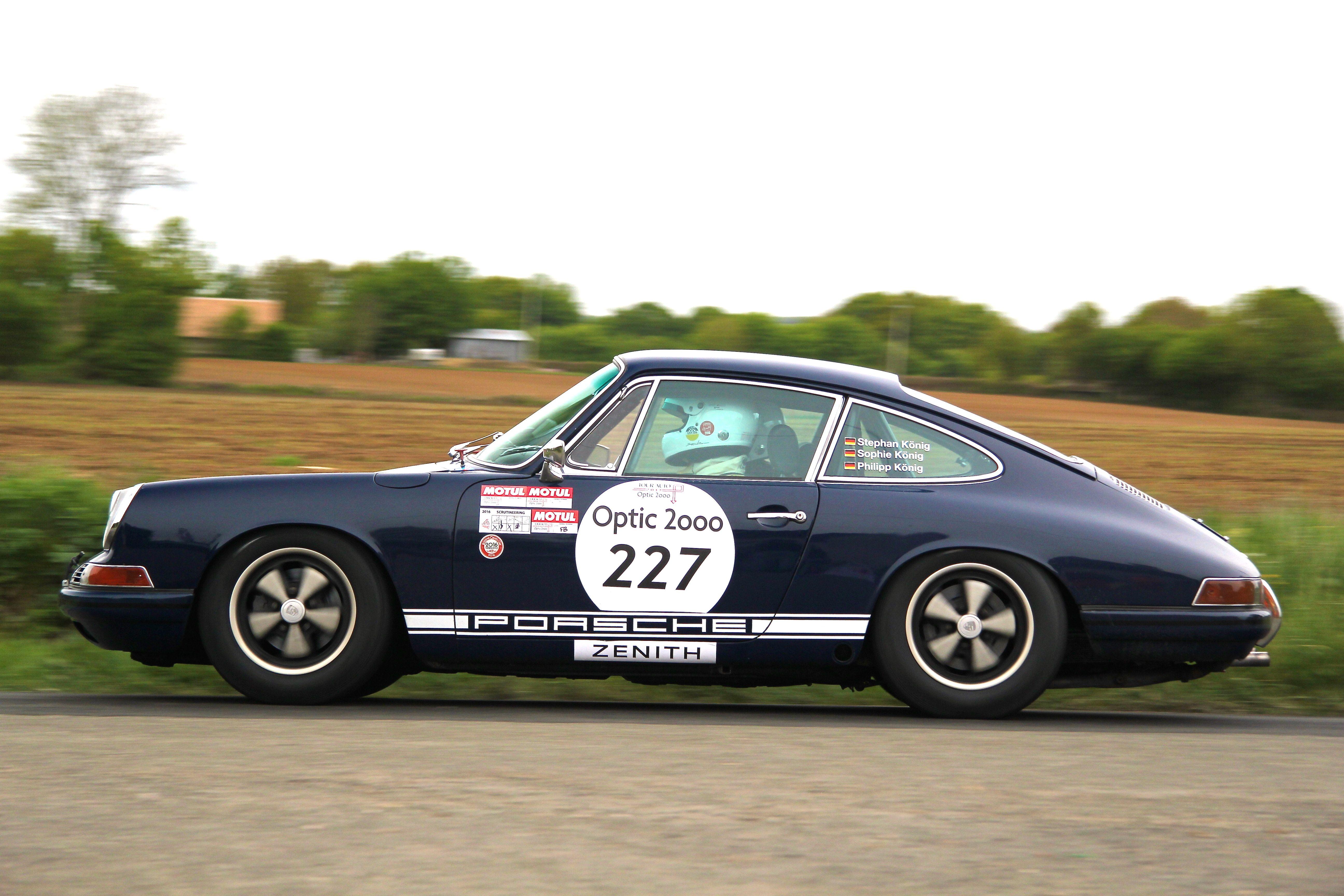 Porsche 911 1965 - épreuve spéciale - Tour Auto 2017 - photo Ludo Ferrari