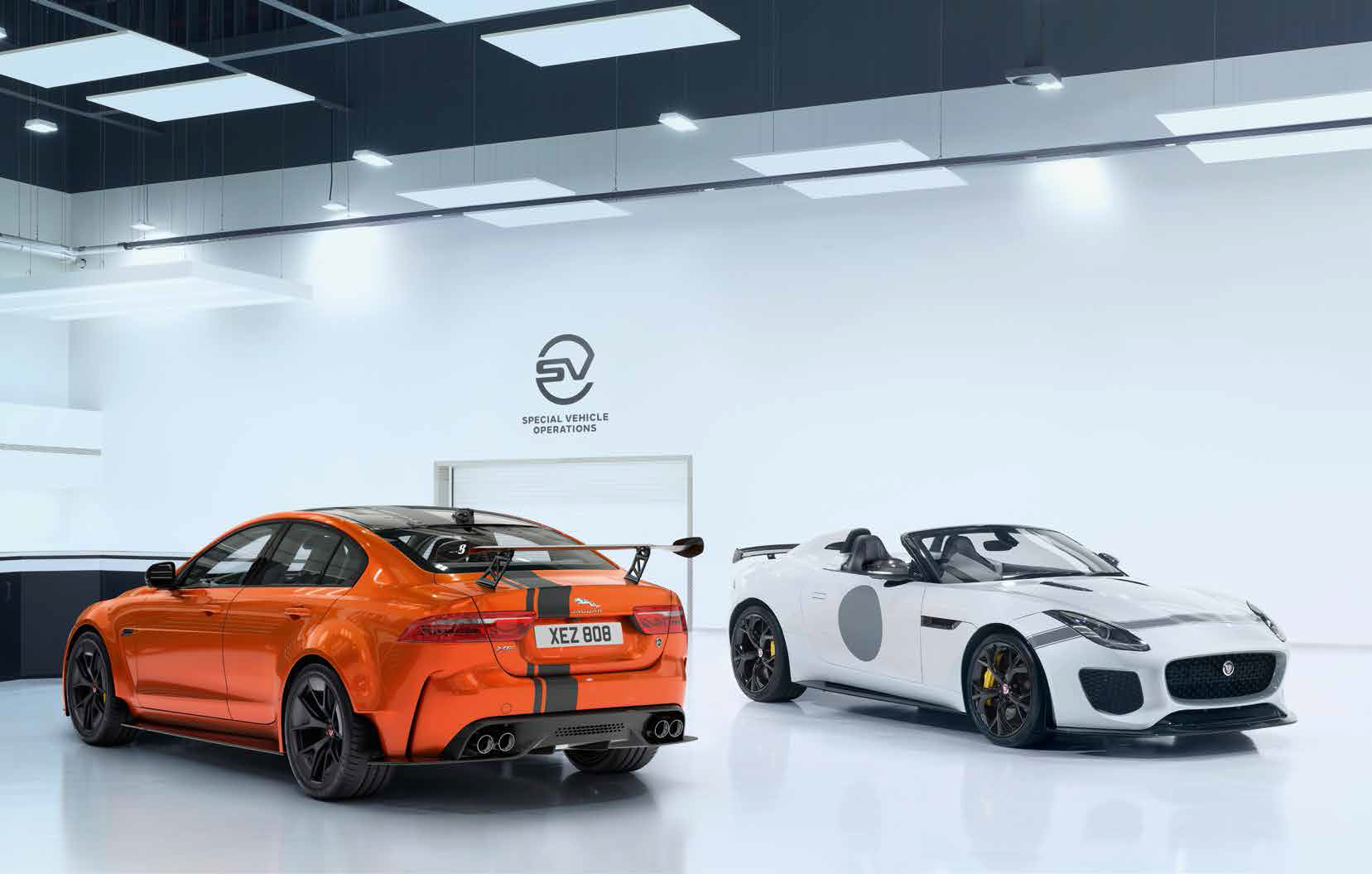 Jaguar - XE Project 8 - F-TYPE Project 7 - SVO