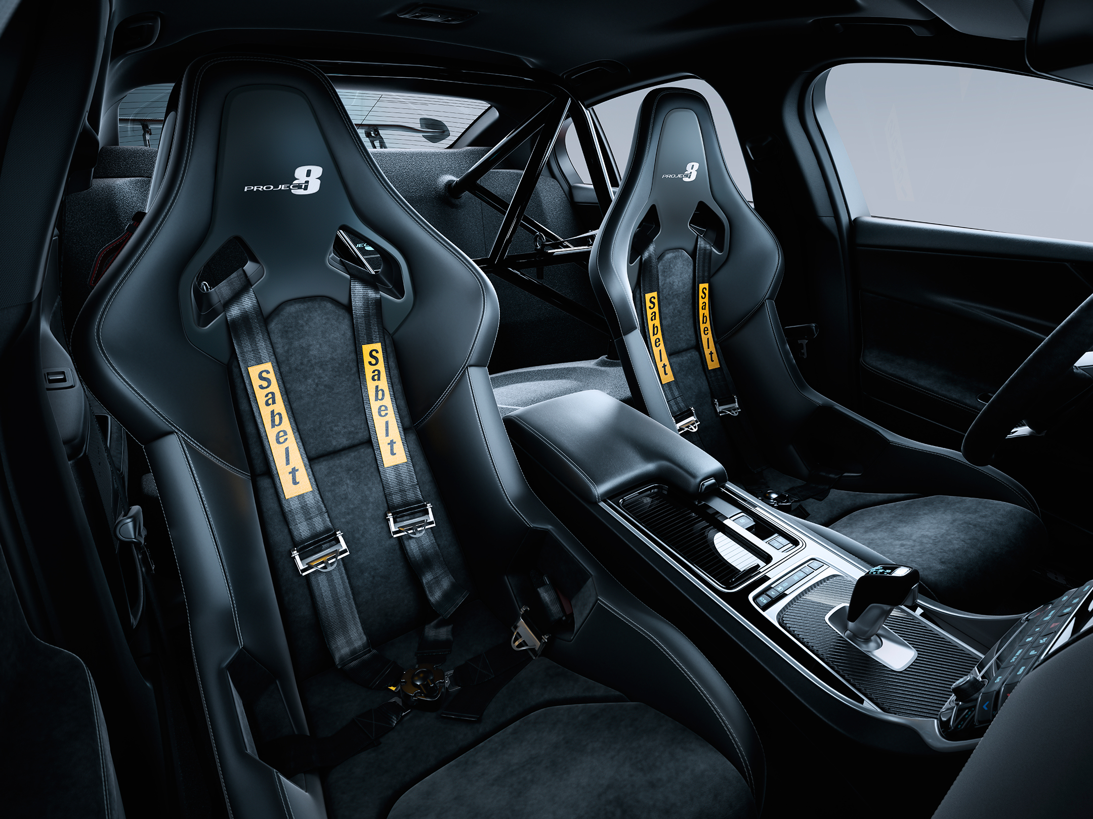 Jaguar XE SV Project 8 - 2017 - racing seats / sièges sport