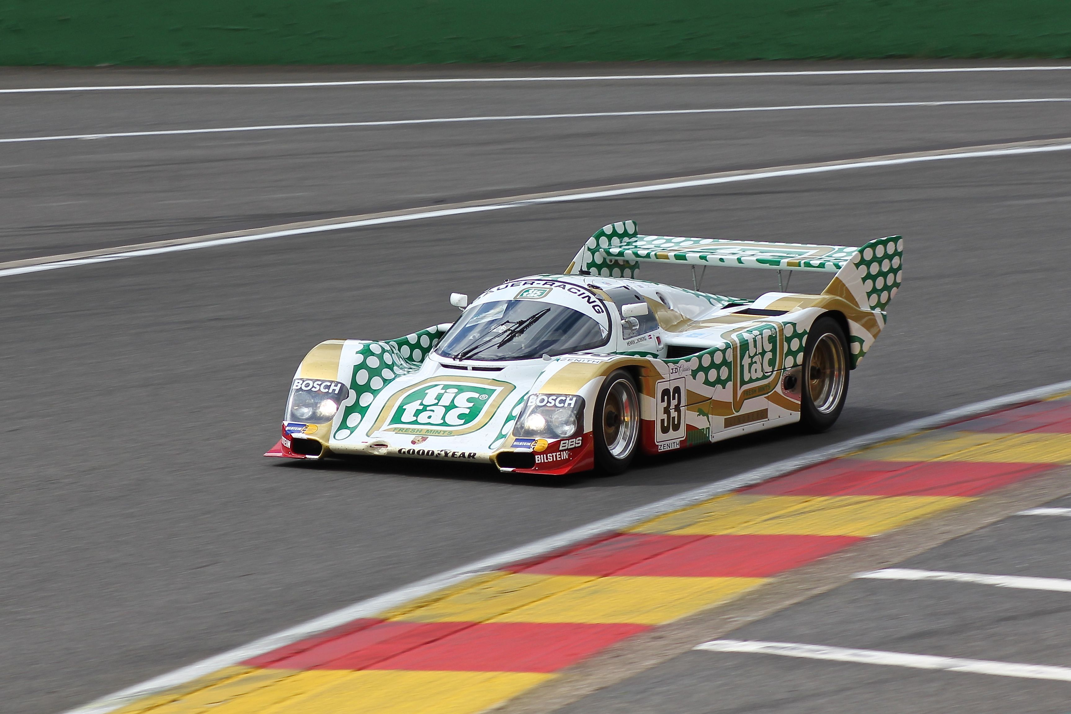 Porsche 962 - 1989 - Spa Classic 2017 - photo Ludo Ferrari