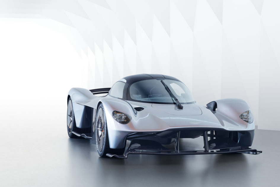 Aston Martin Valkyrie - 2017 - front side-face / profil avant