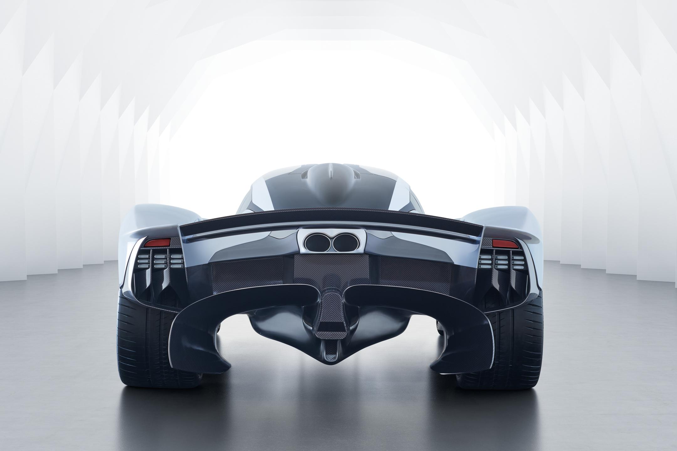 Aston Martin Valkyrie - 2017 - rear face / face arrière