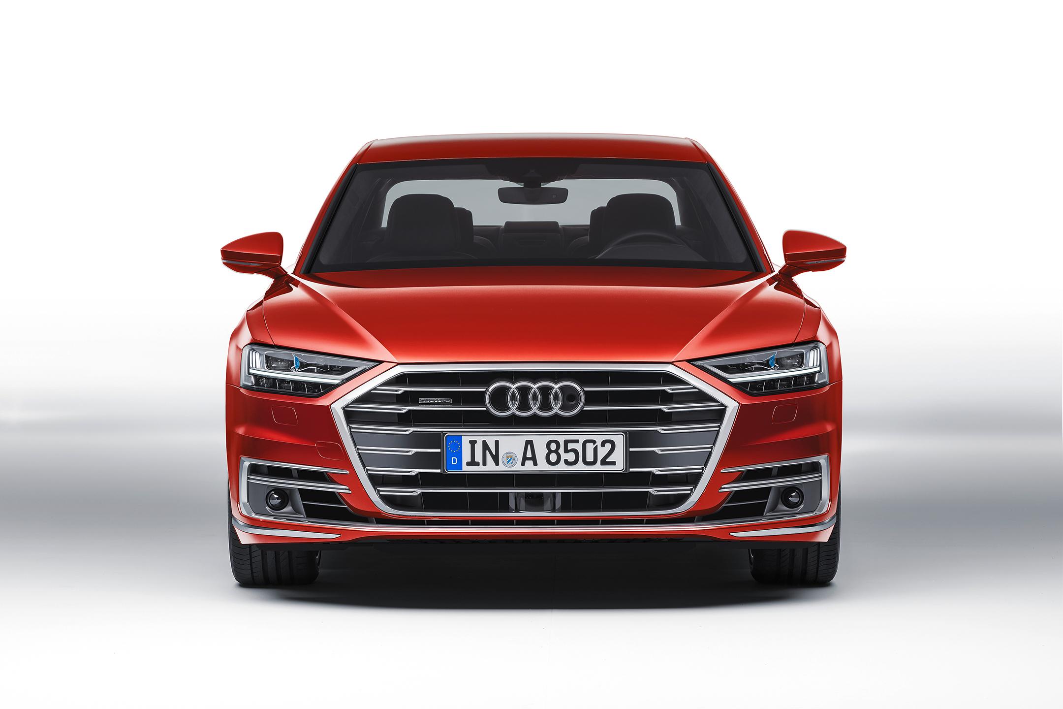 Audi A8 - 2017 - front-face  / face avant