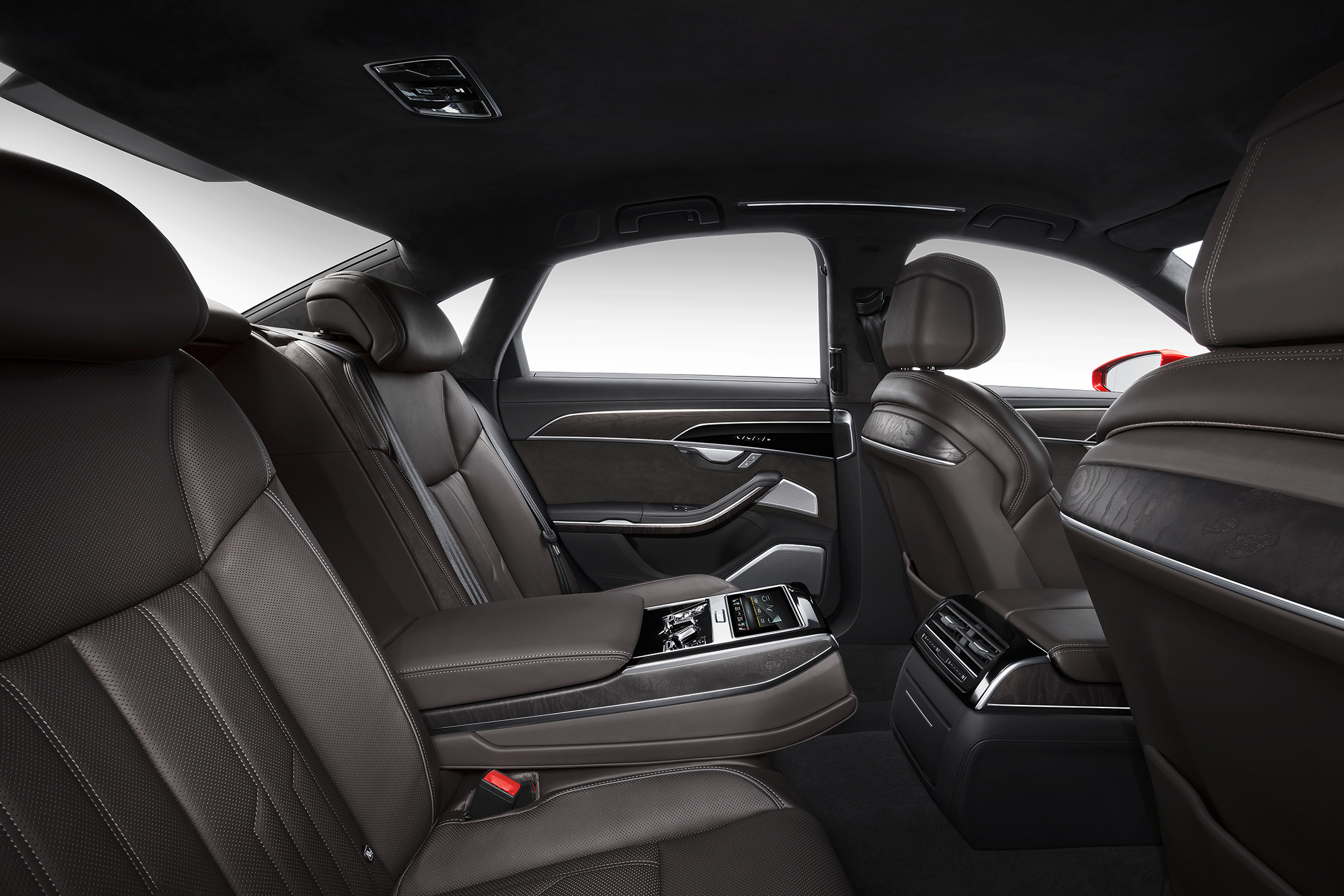 Audi A8 - 2017 - rear seats / sièges arrière