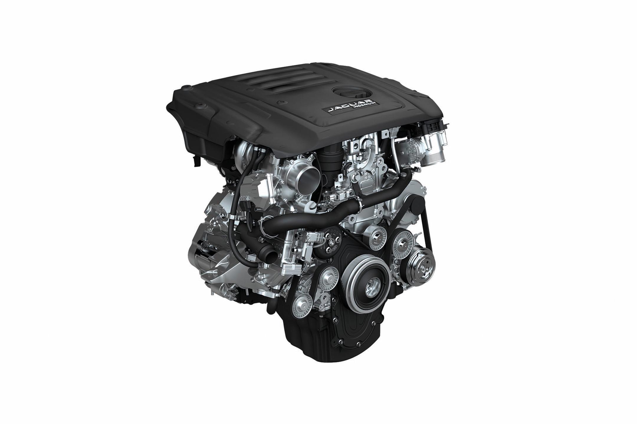 Jaguar E-PACE - 2017 - engine / moteur - Ingenium Diesel