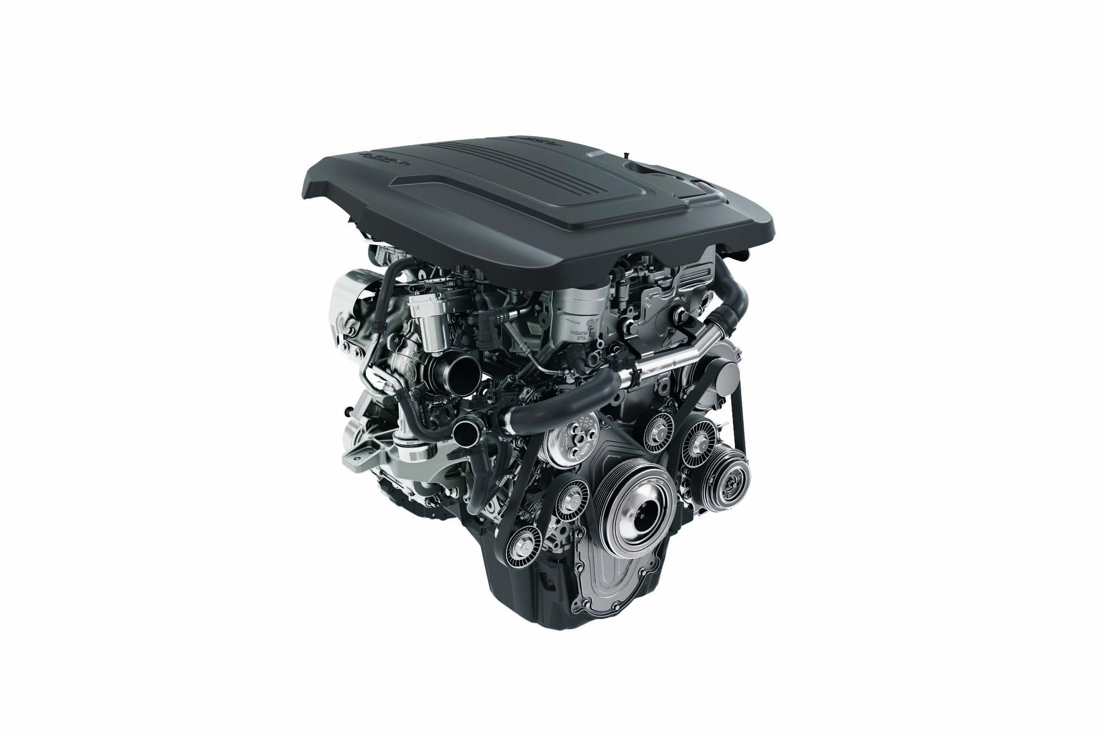 Jaguar E-PACE - 2017 - engine / moteur - Ingenium Petrol