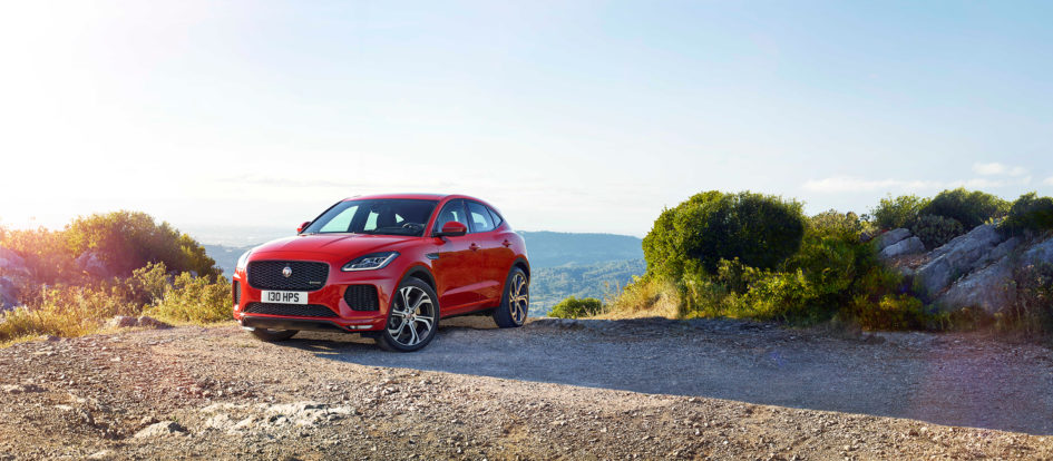 Jaguar E-PACE - 2017 - front off-road