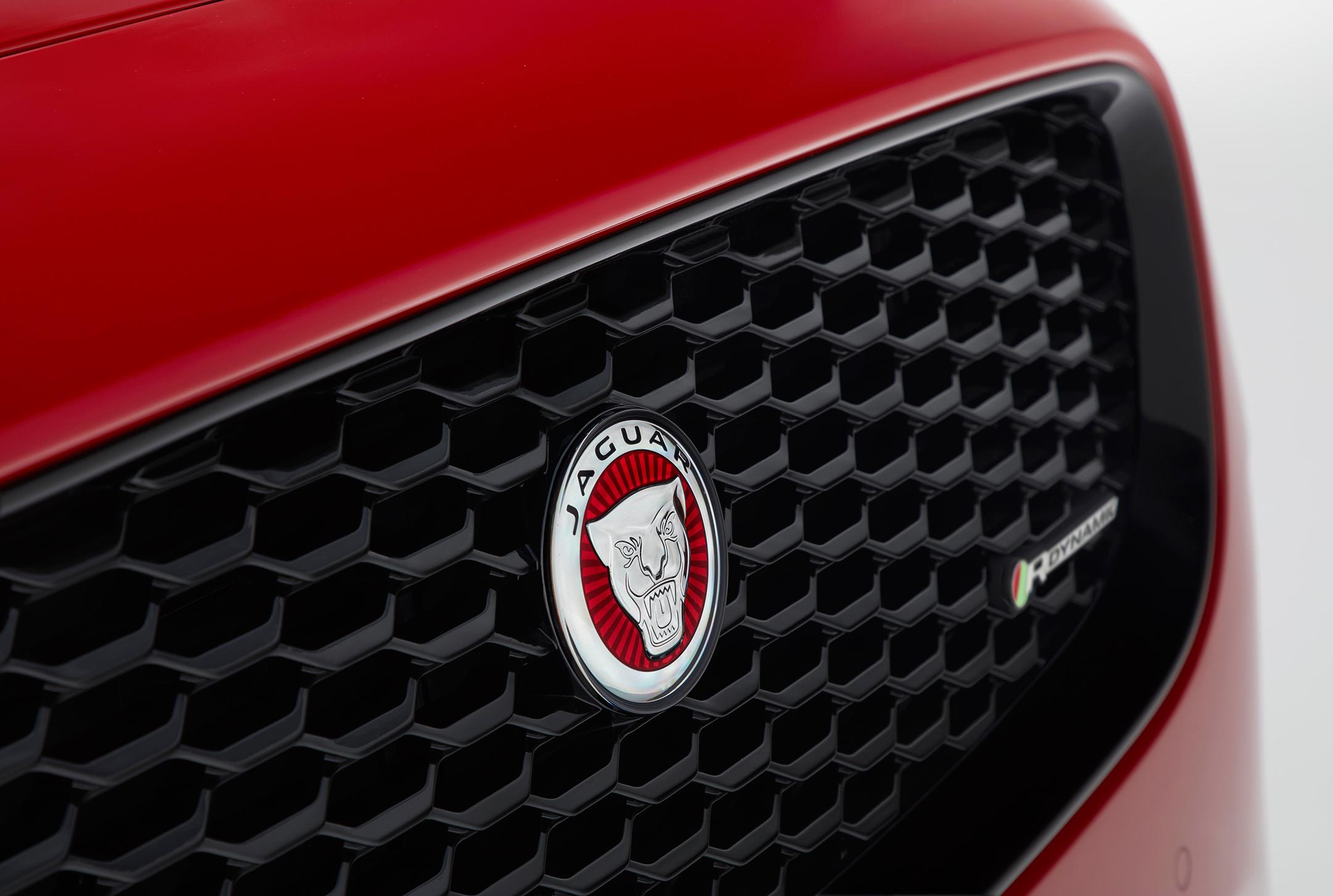 Jaguar E-PACE - 2017 - front logo