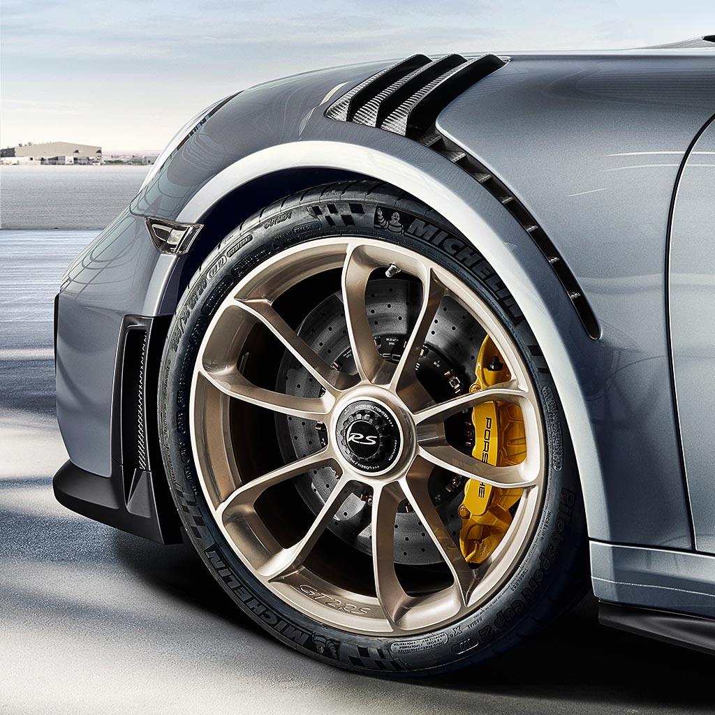 Porsche 911 GT2 RS - 2017 - wheel / jante