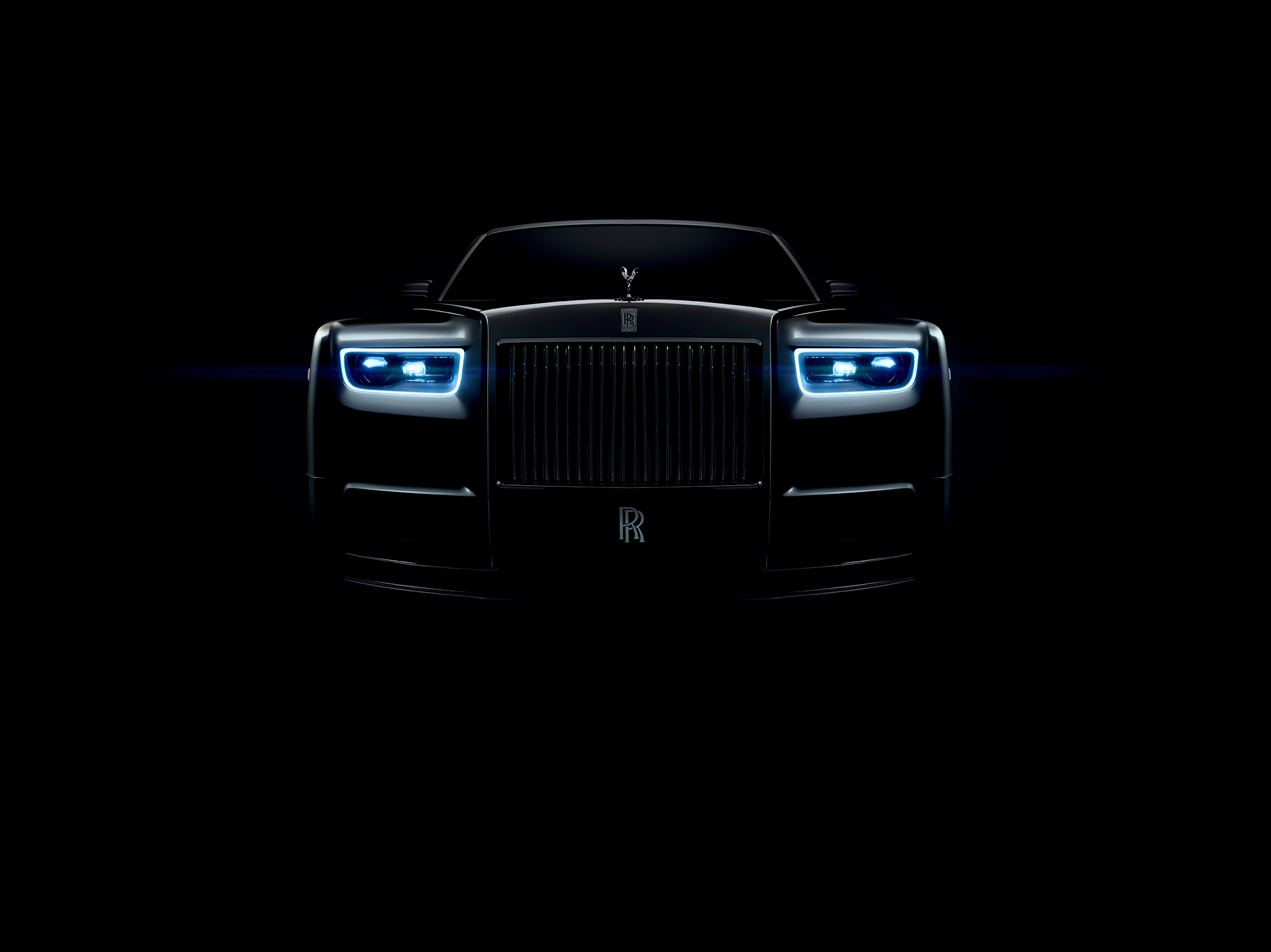 Rolls-Royce Phantom - 2017 - front light