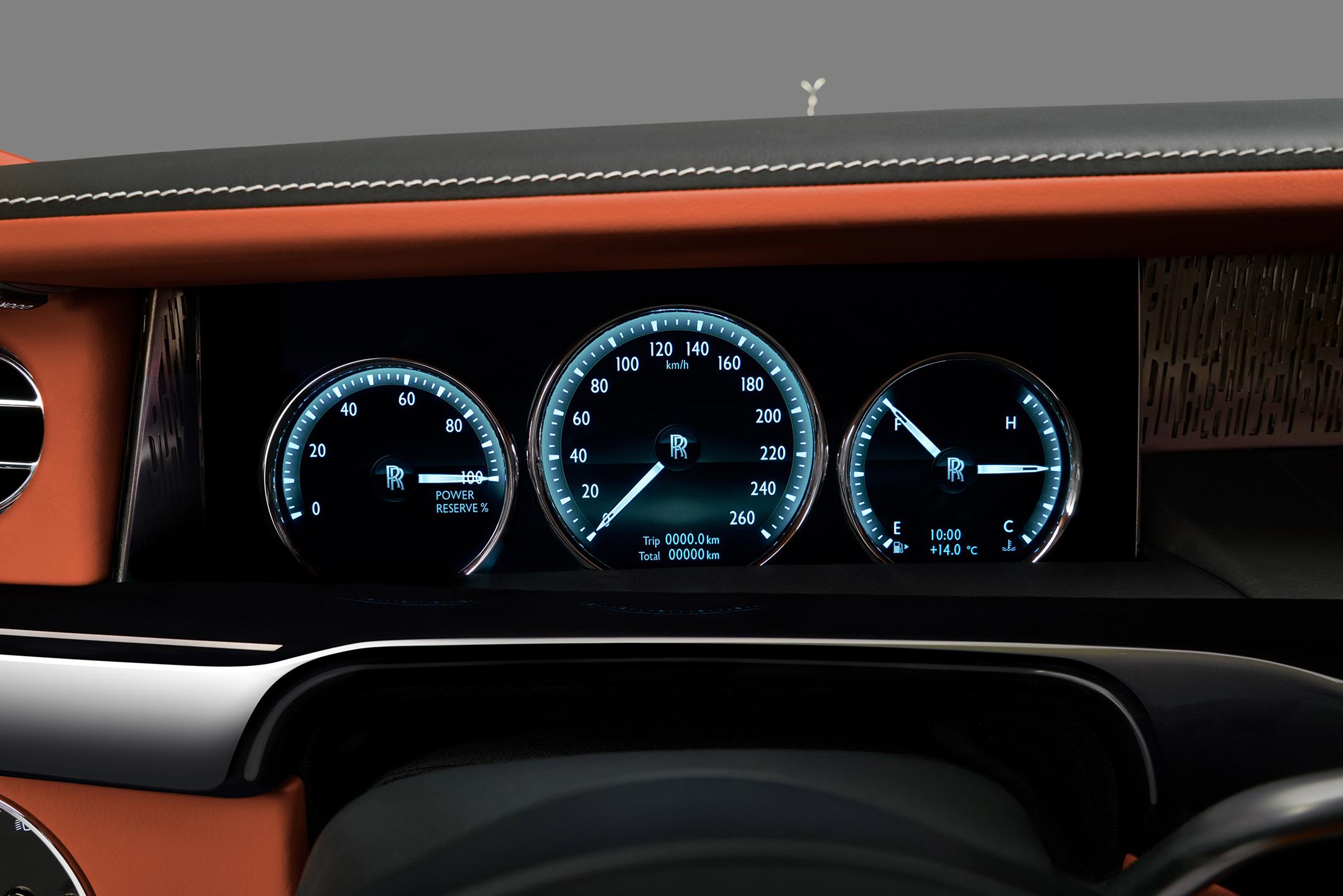 Rolls-Royce Phantom - 2017 - interior / intérieur
