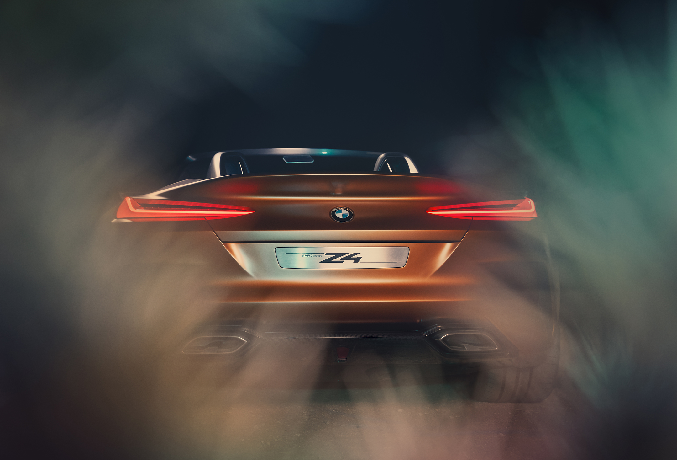 BMW Concept Z4 - 2017 - rear light