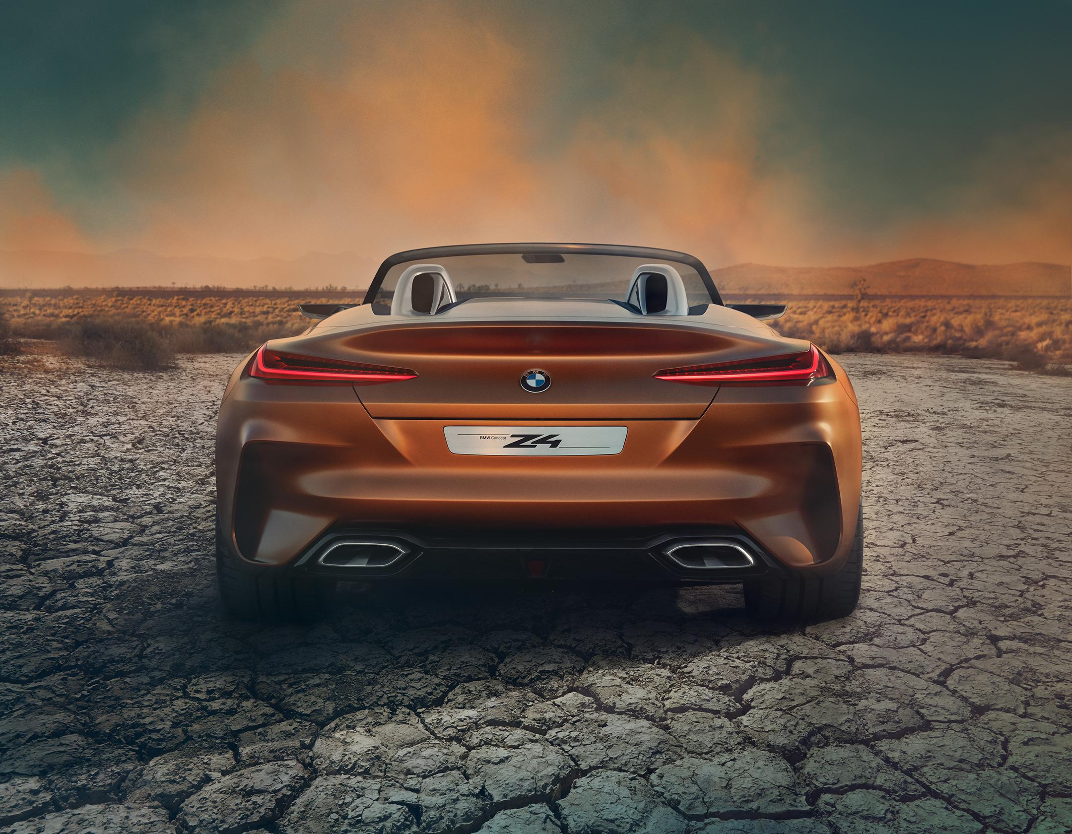 BMW Concept Z4 - 2017 - rear / arrière