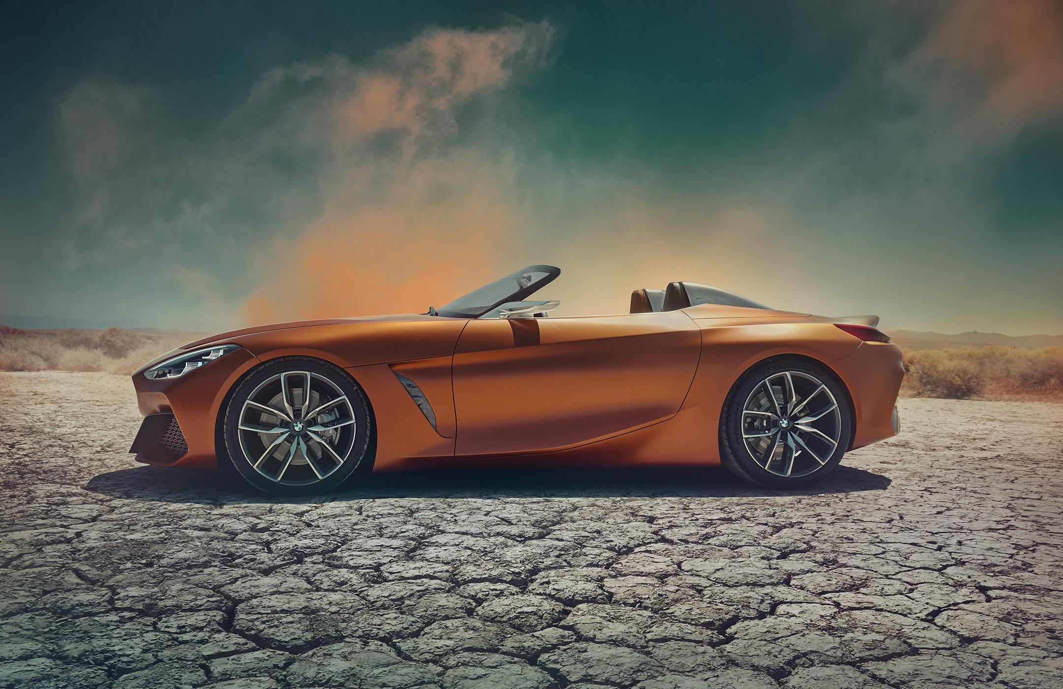 BMW Concept Z4 - 2017 - side-face / profil