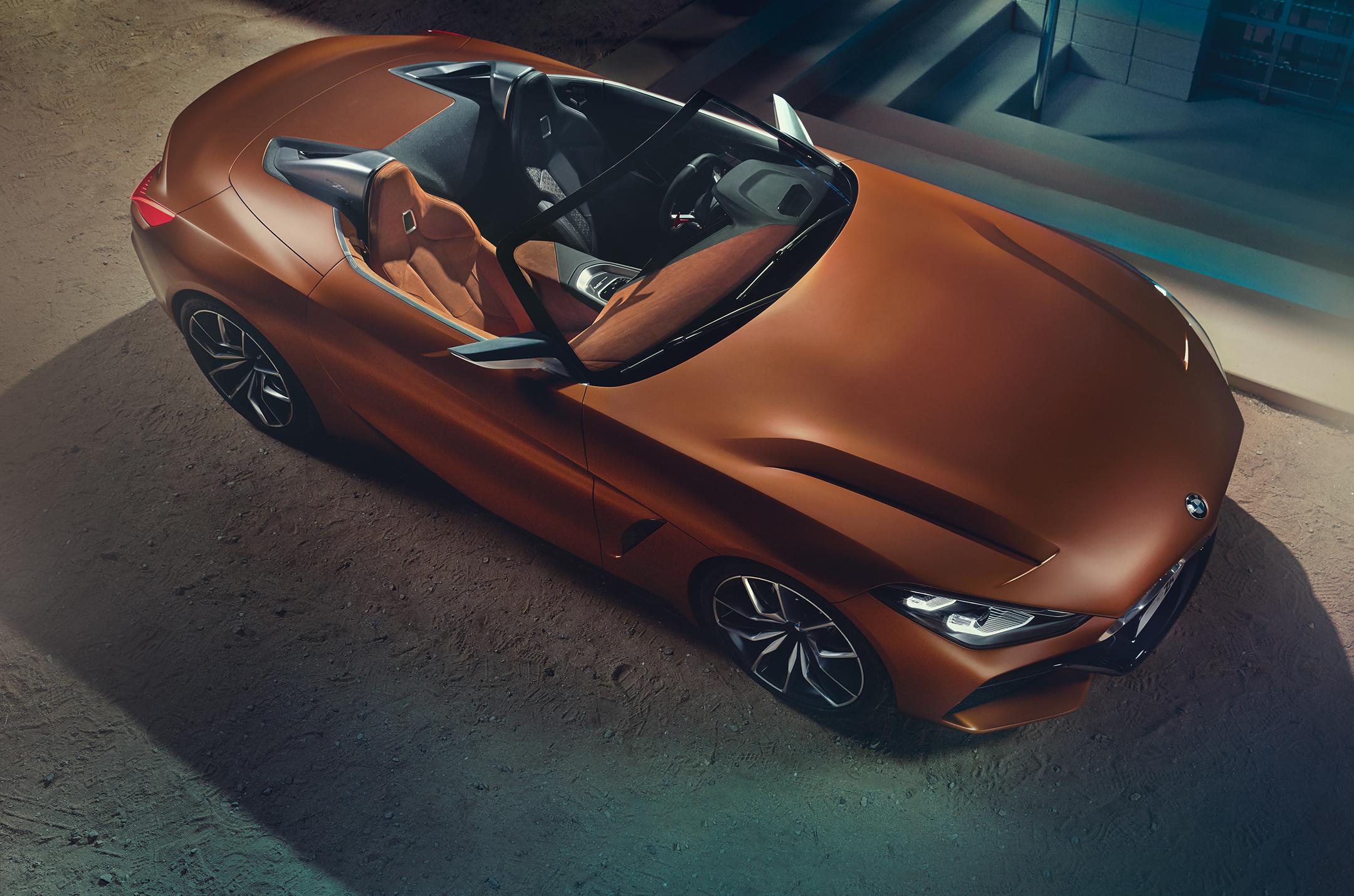 BMW Concept Z4 - 2017 - top view