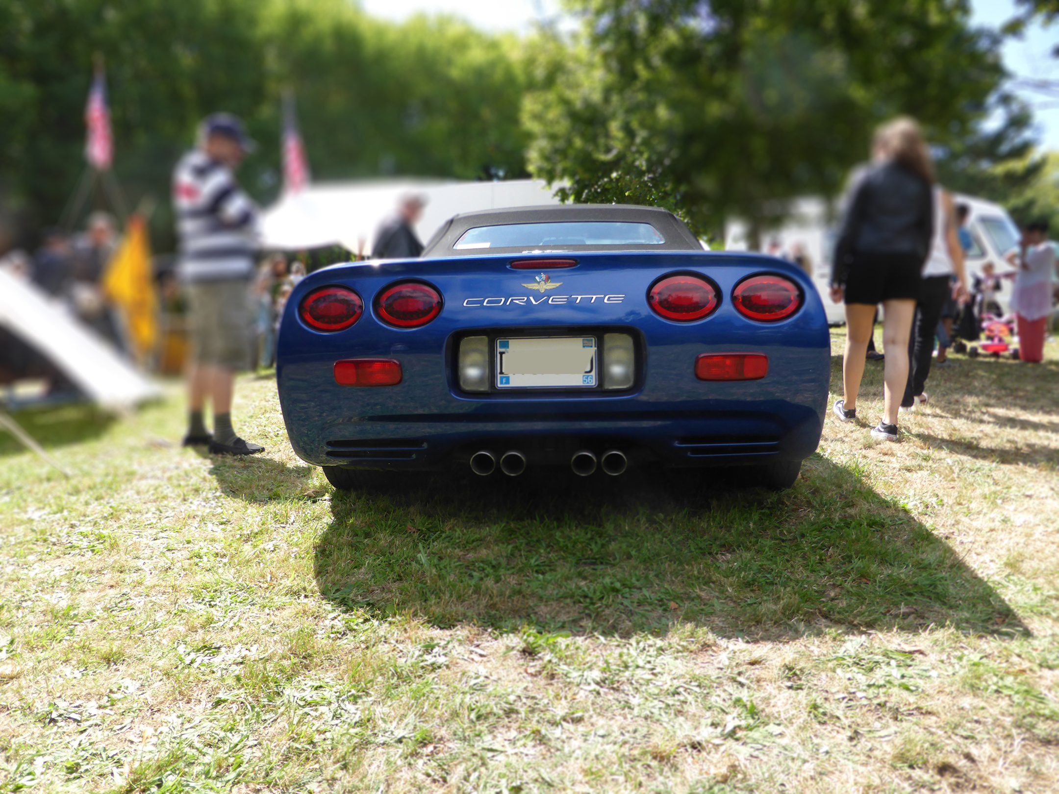 Chevrolet Corvette - 2003 - rear - US Cars and Bikes 2017 - Photo by ELJ DESIGNMOTEUR
