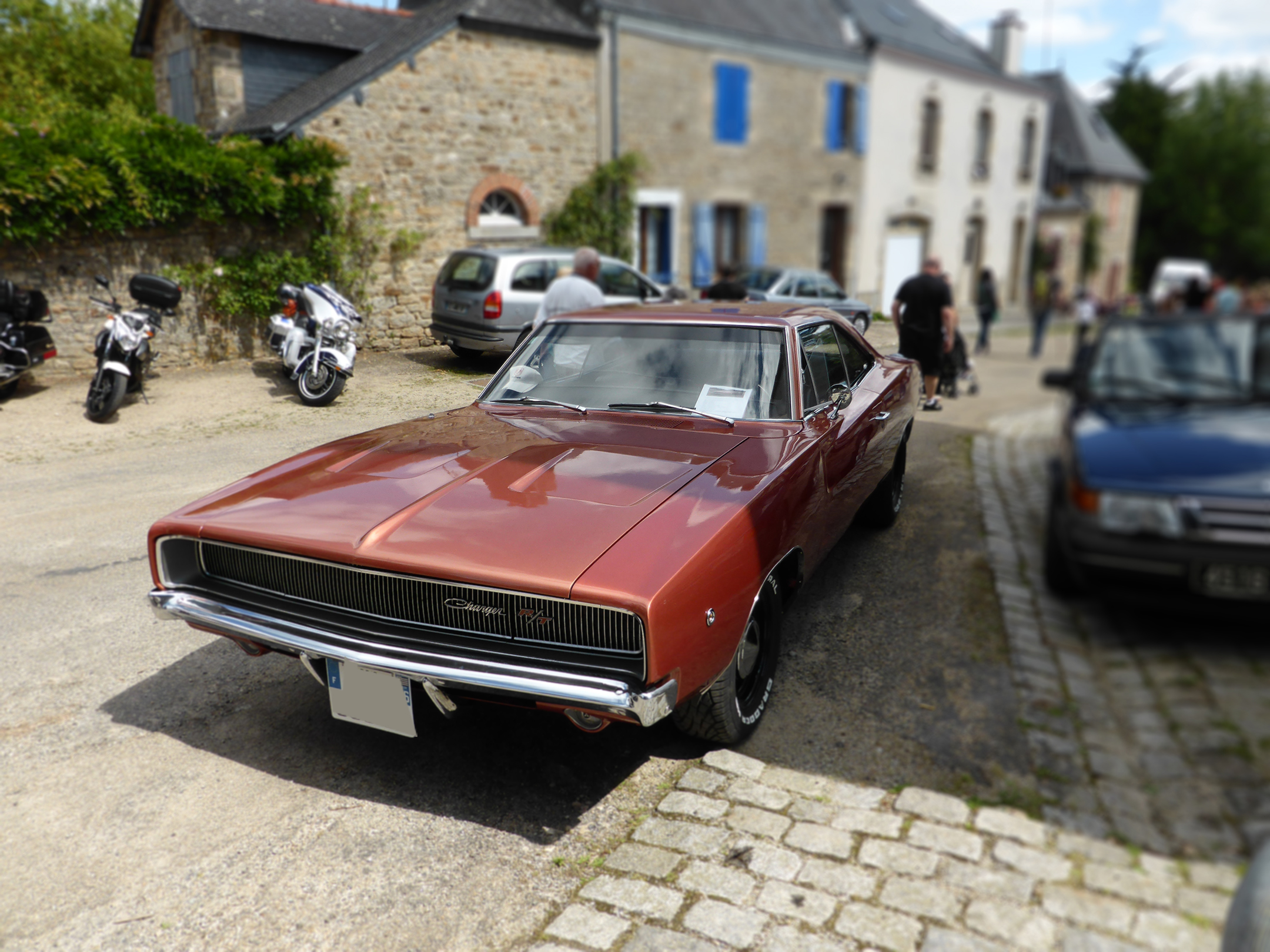 Dodge Charger R/T - 1968 - front - US Cars and Bikes 2017 - Photo by ELJ