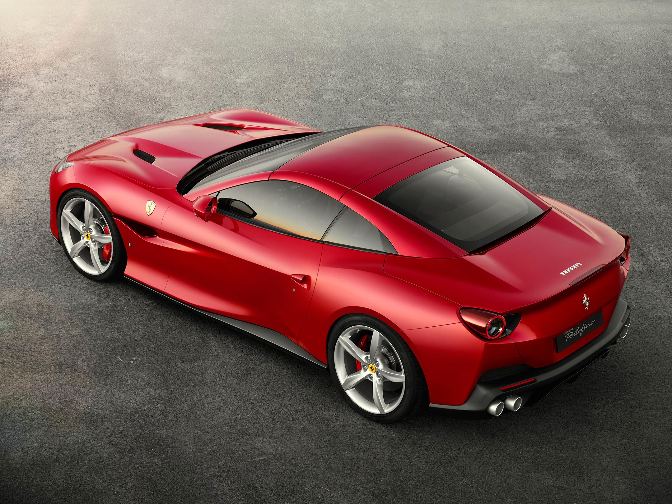 Ferrari Portofino - 2017 - rear side-face / profil arrière