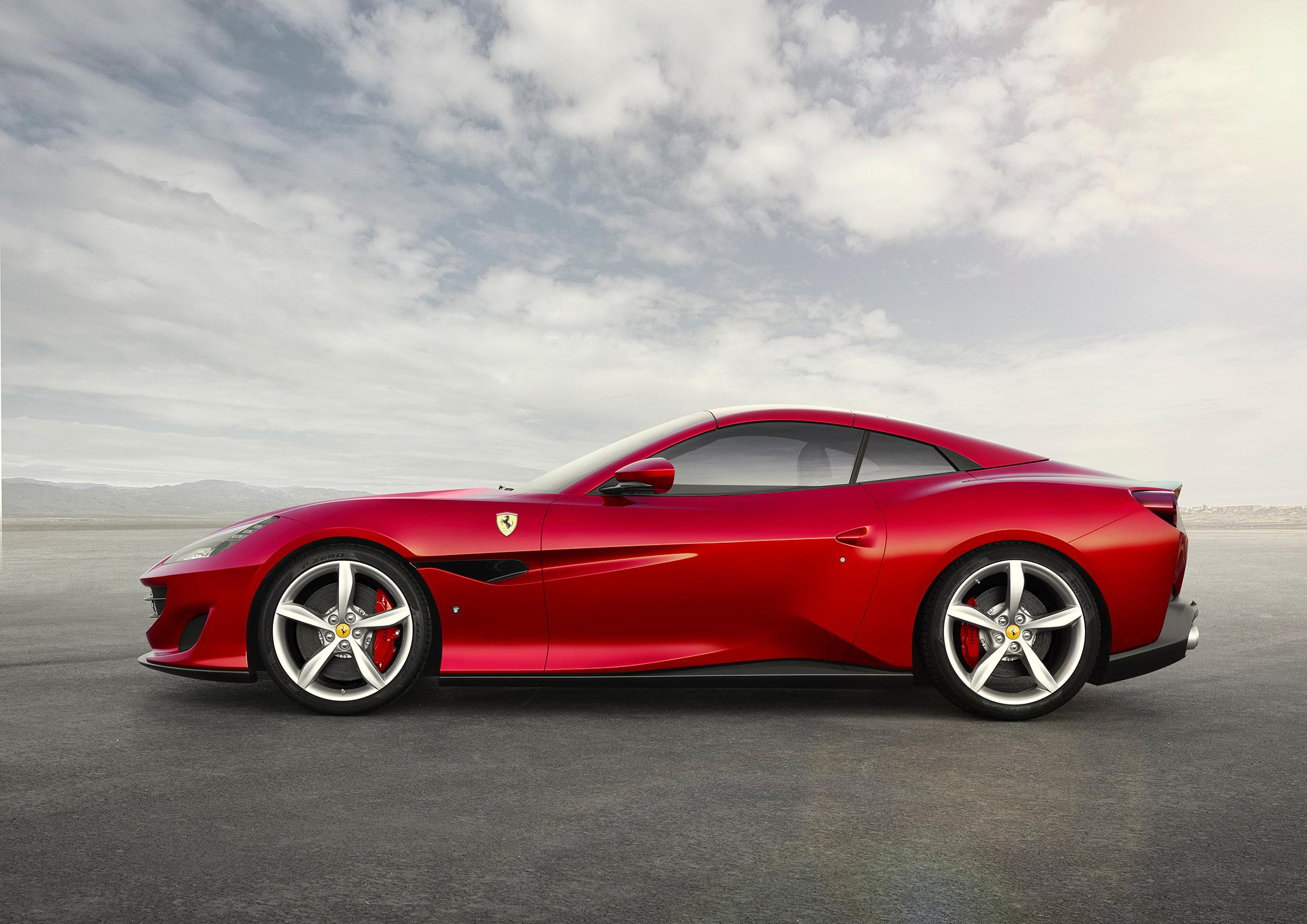 Ferrari Portofino - 2017 - side-face / profil