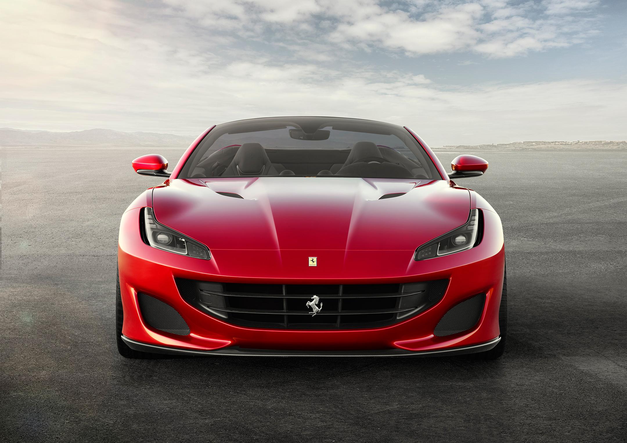 Ferrari Portofino - 2017 - front-face / face avant