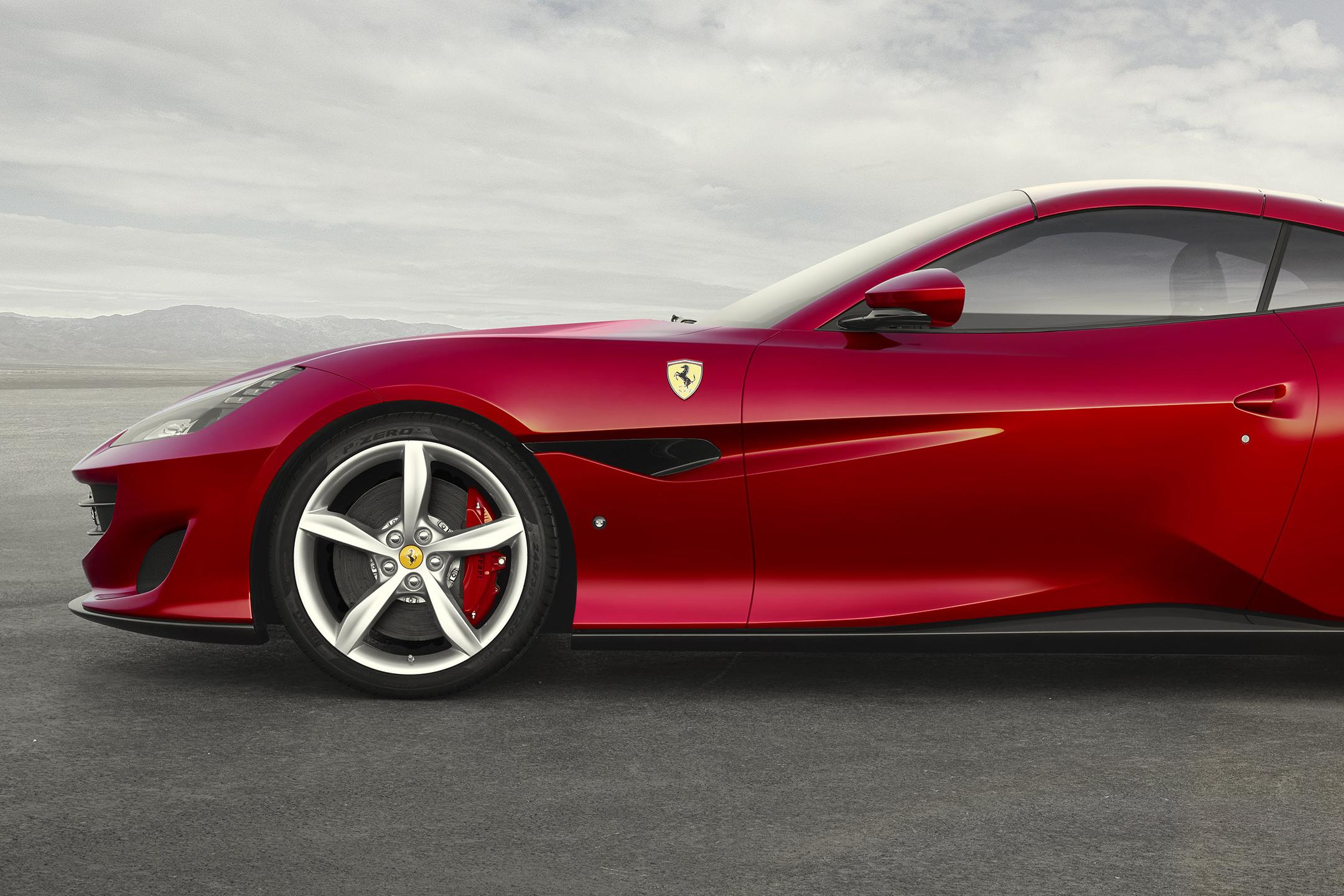 Ferrari Portofino - 2017 - front wheel