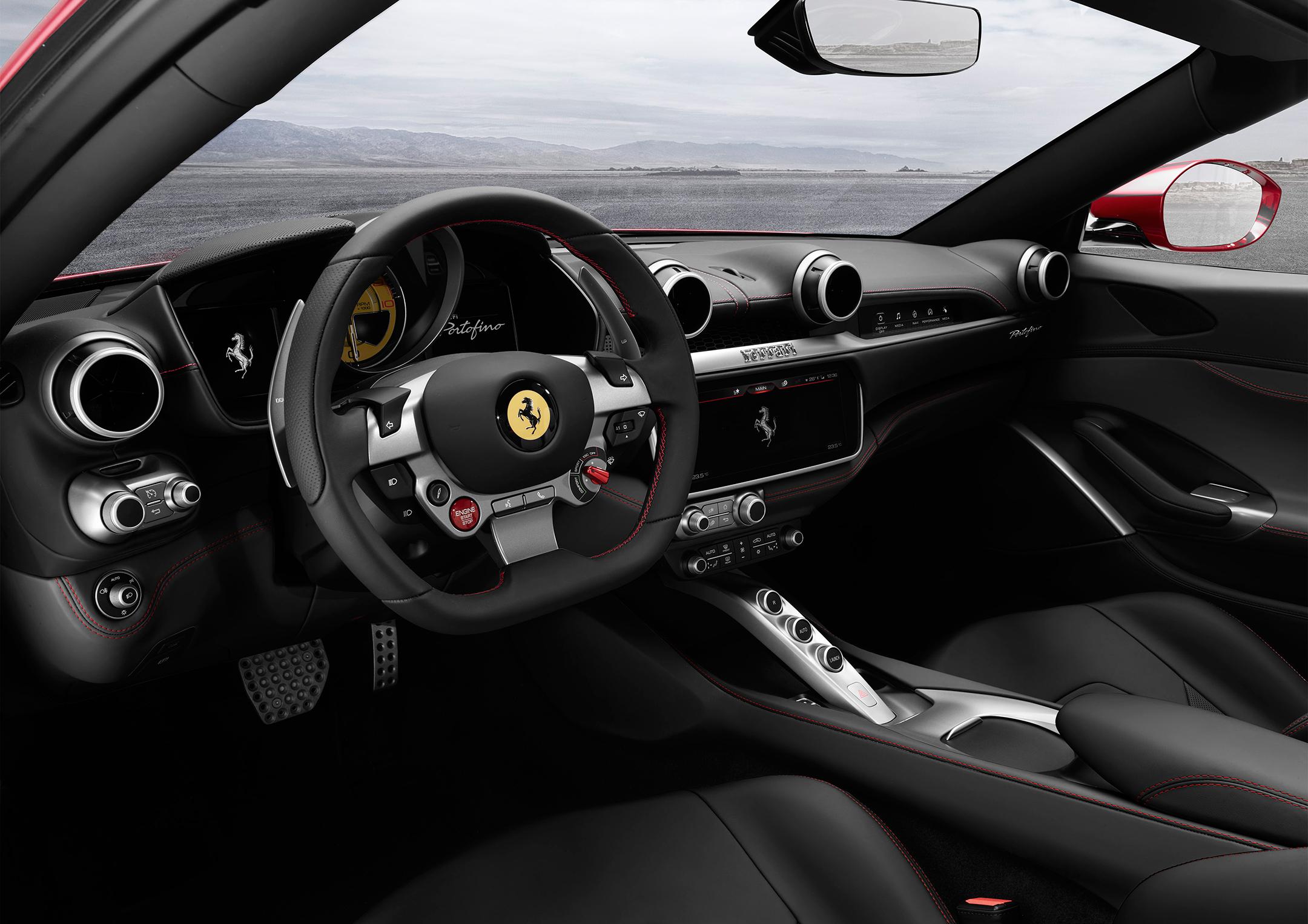 Ferrari Portofino - 2017 - interior / intérieur