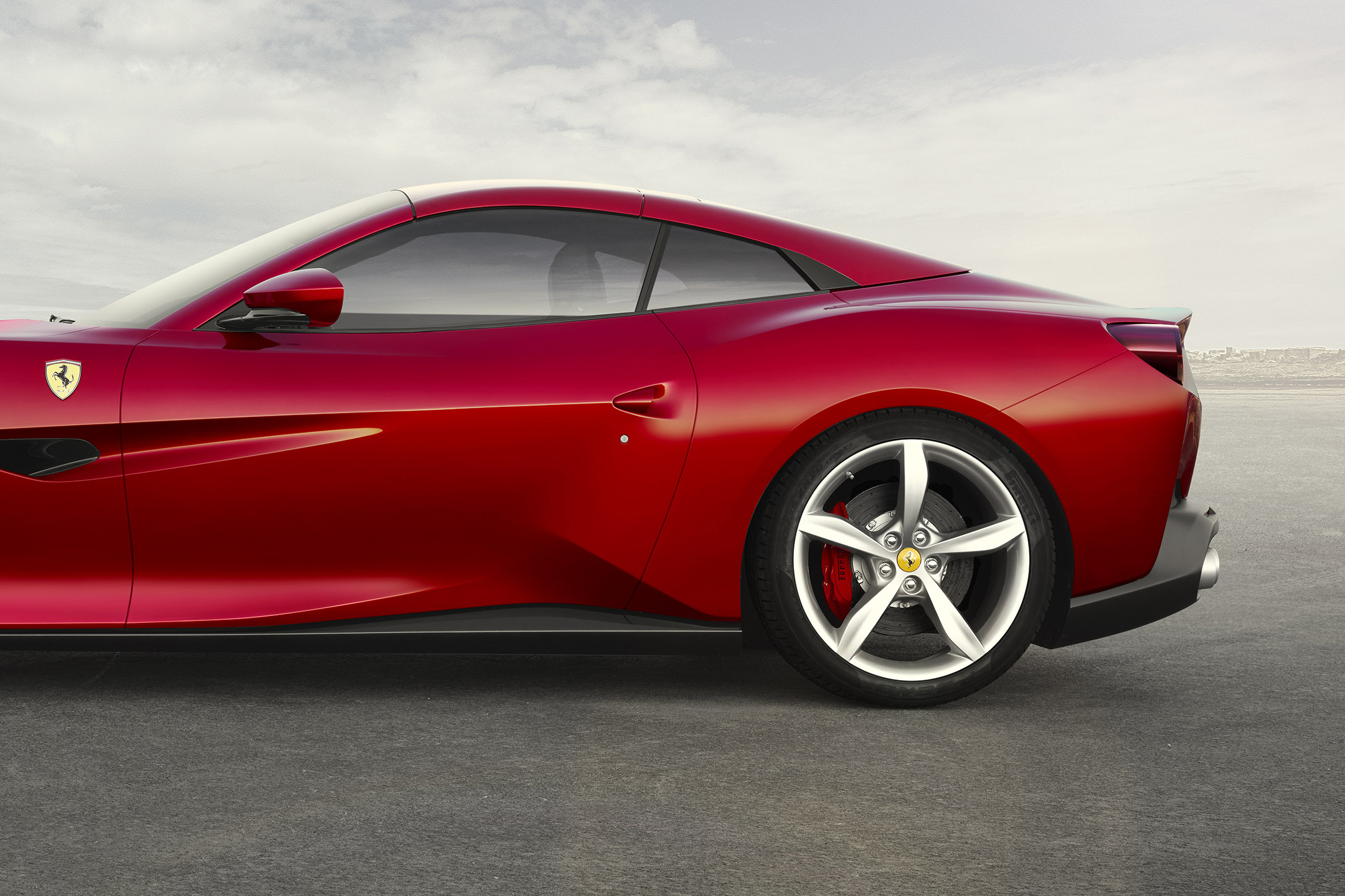Ferrari Portofino - 2017 - rear wheel