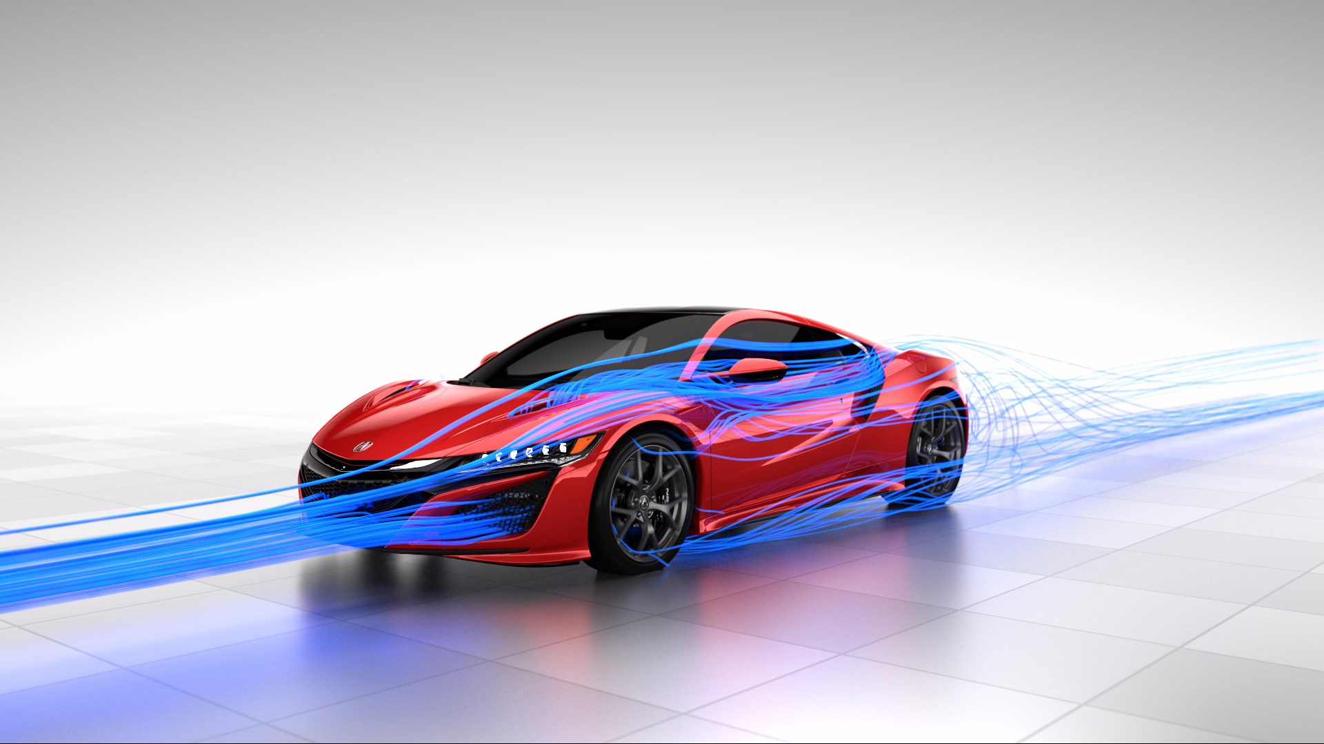 Honda Acura NSX - 2017 - Total Airflow Management - front aero design