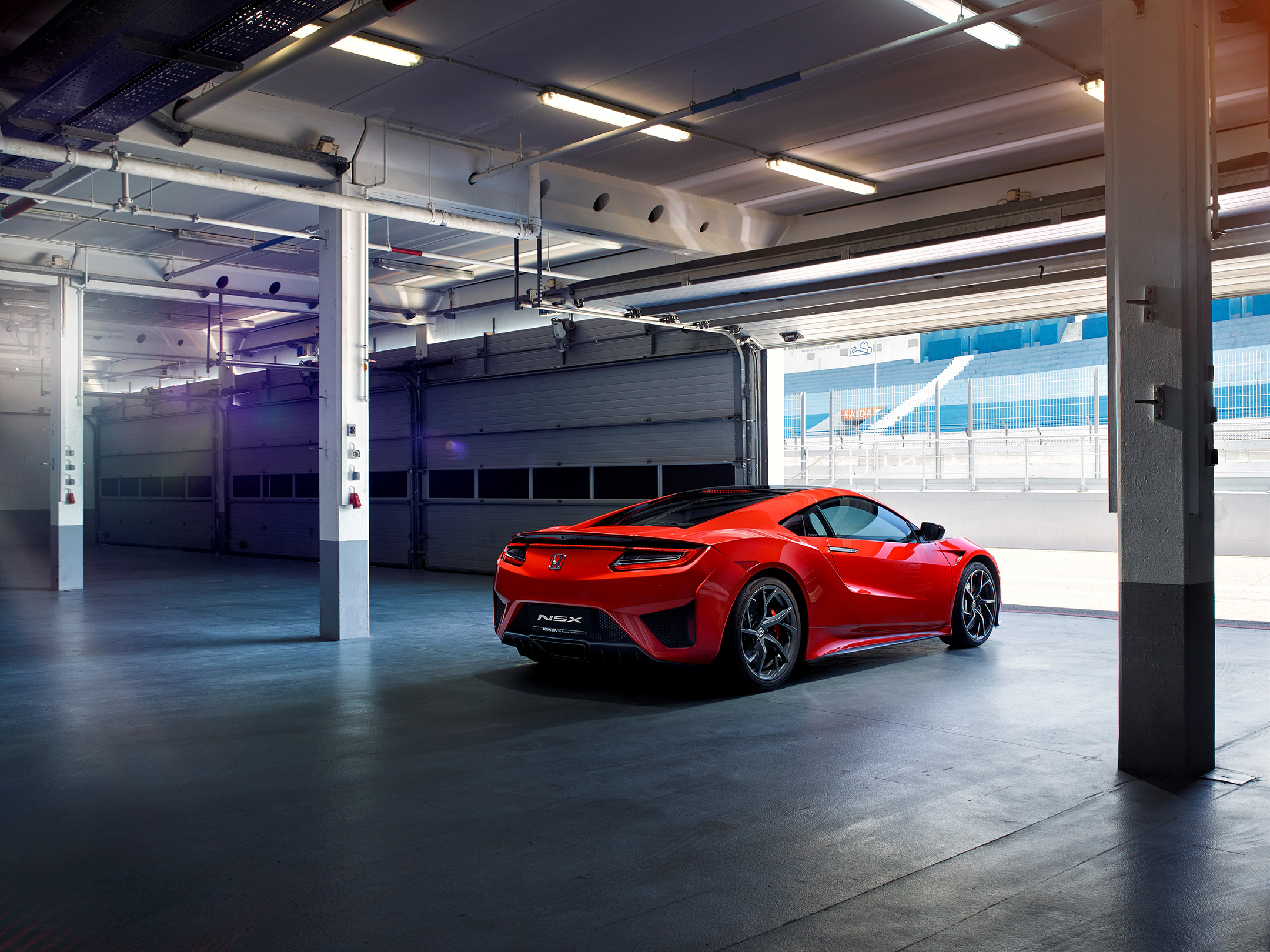 Honda Acura NSX - 2017 - box start