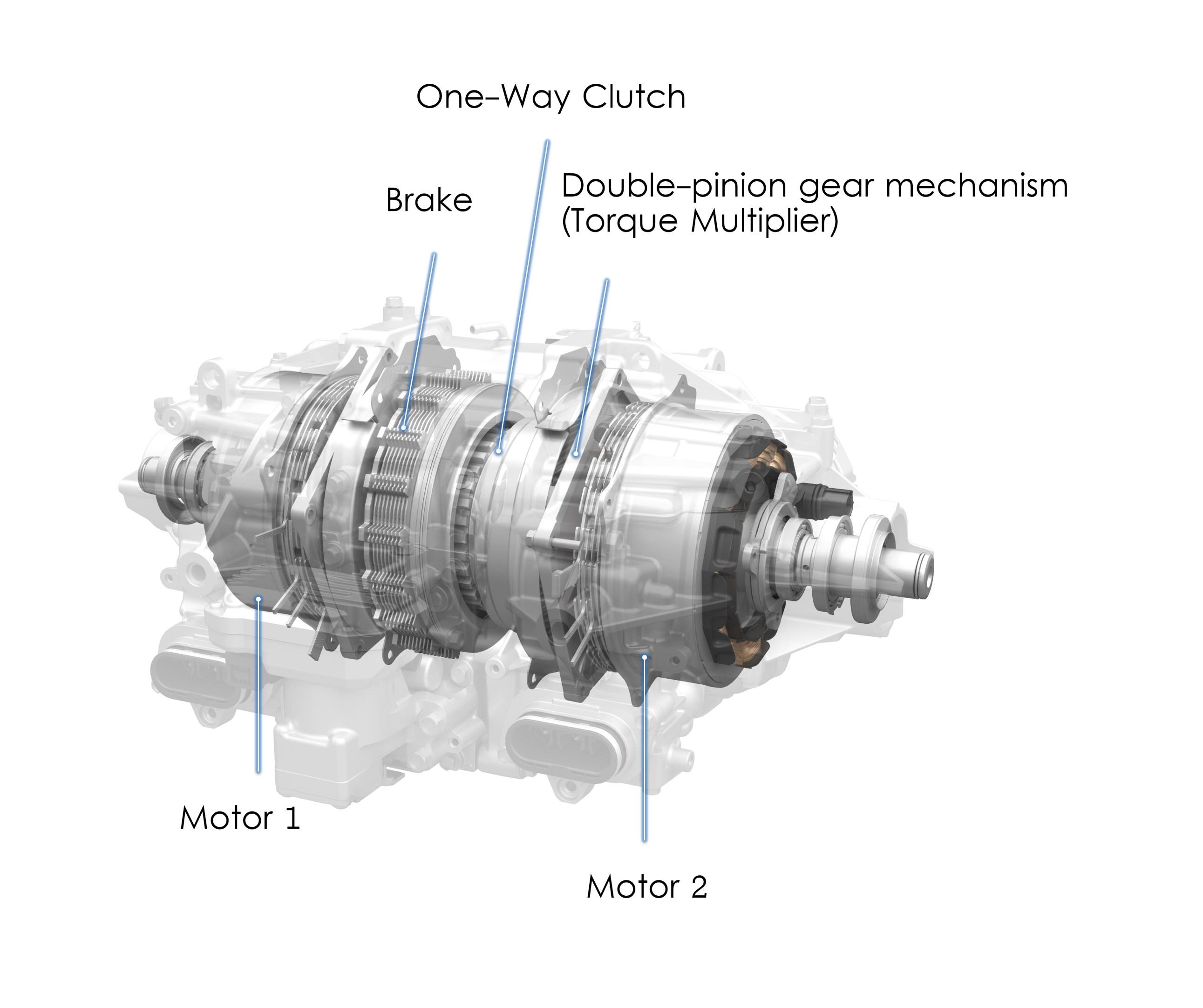 Honda Acura NSX - 2017 - gearbox inside