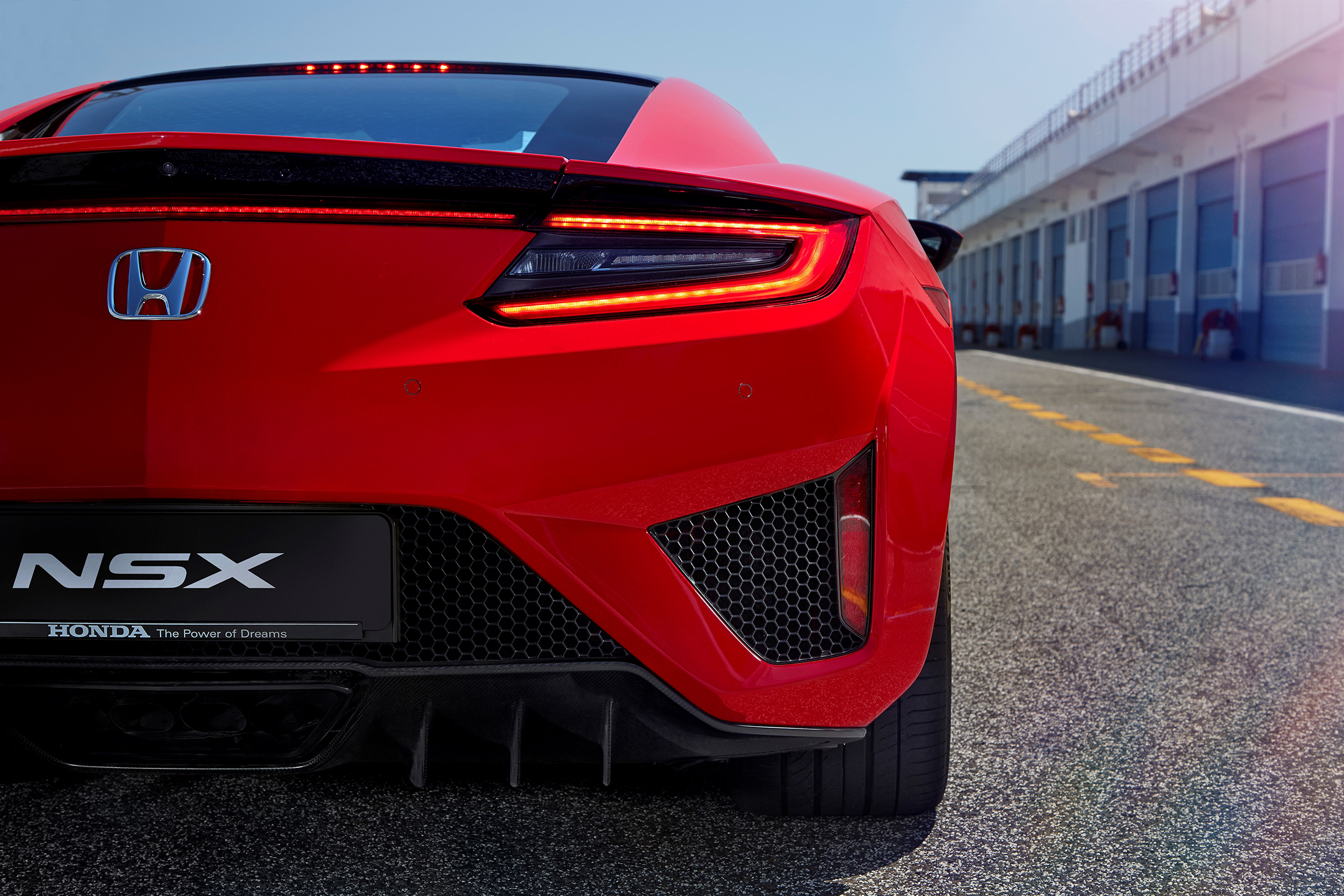 Honda Acura NSX - 2017 - rear light