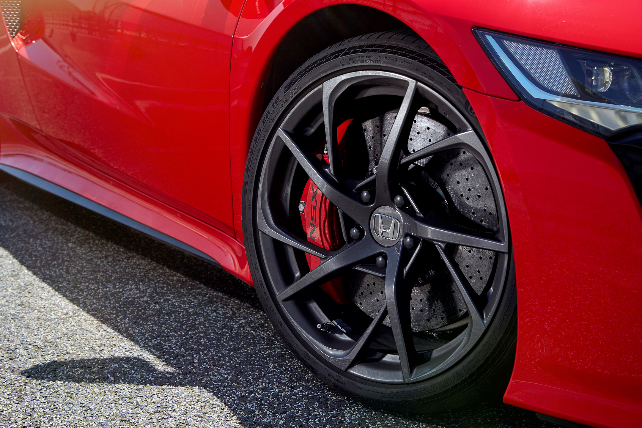 Honda Acura NSX - 2017 - wheel / jante