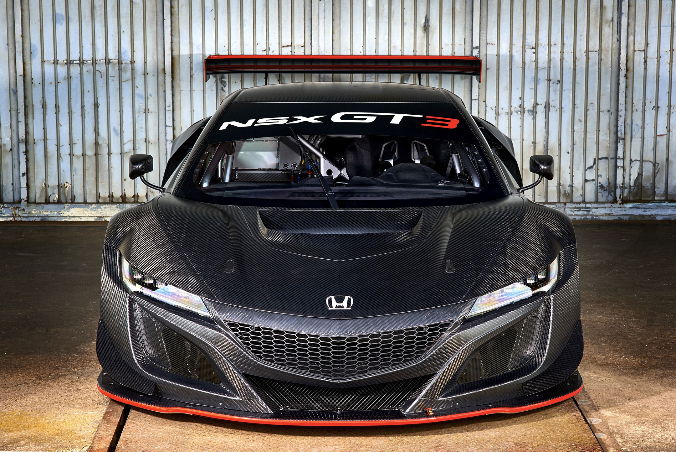 Honda ACURA NSX GT3 - 2017 - top front-face