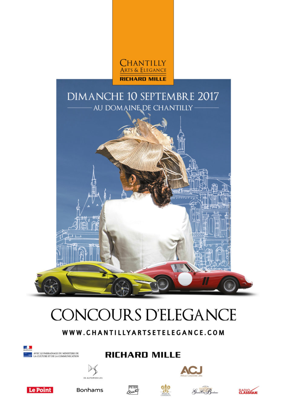 Chantilly Arts & Élégance 2017 - poster