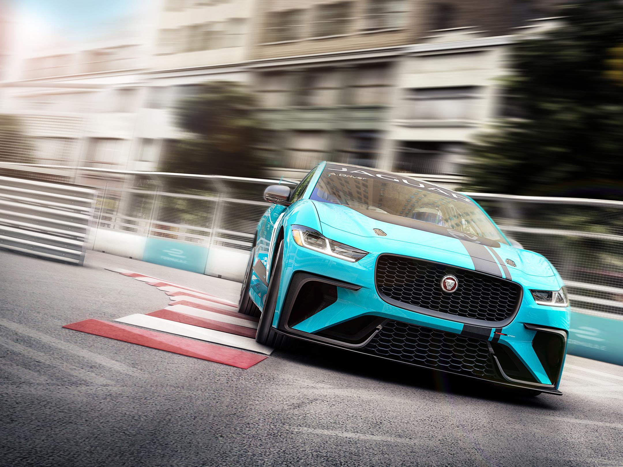 Jaguar I-PACE eTROPHY - 2017 - front-face / face avant